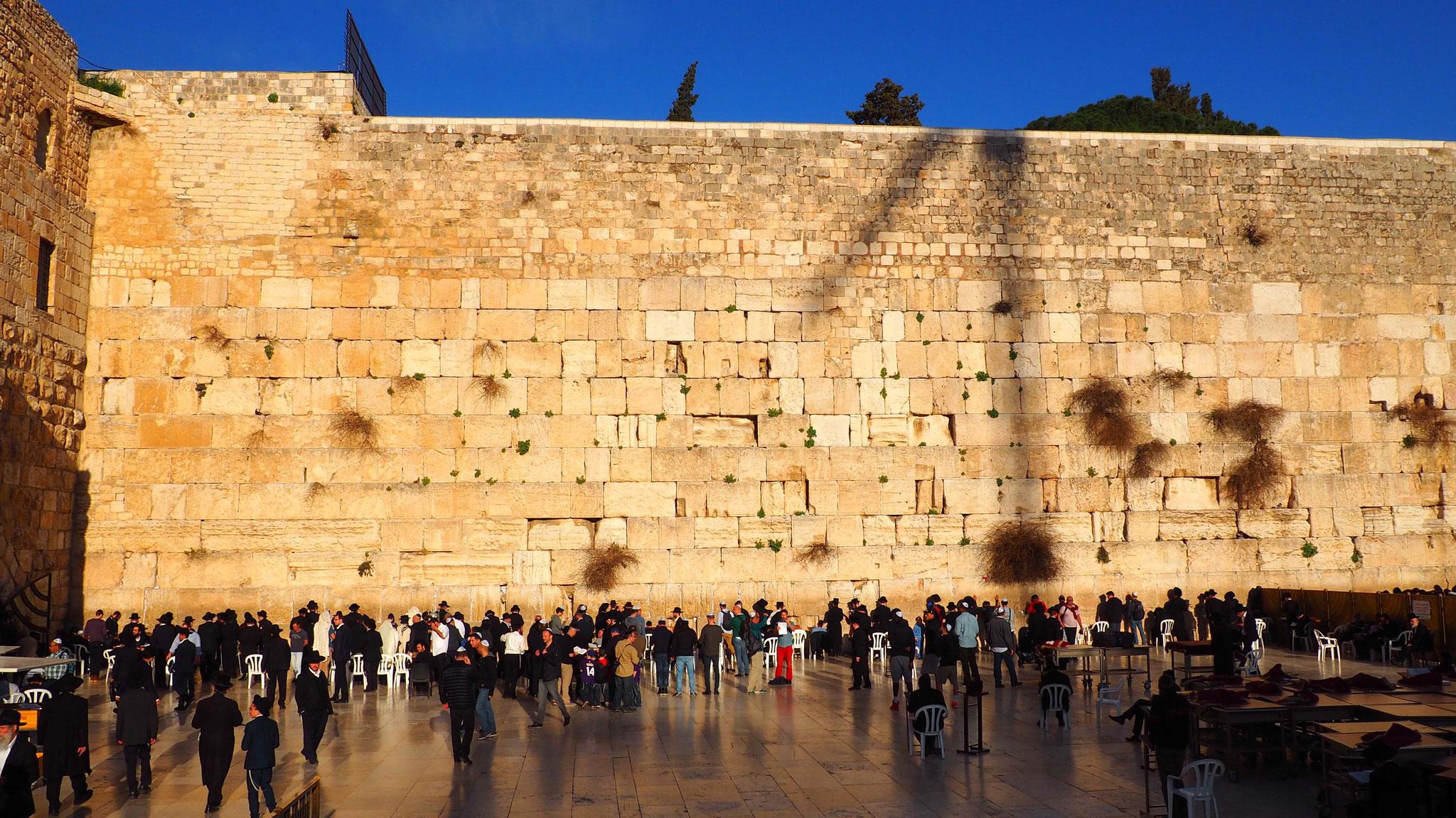 Le mur des lamentations - Jérusalem - Israël