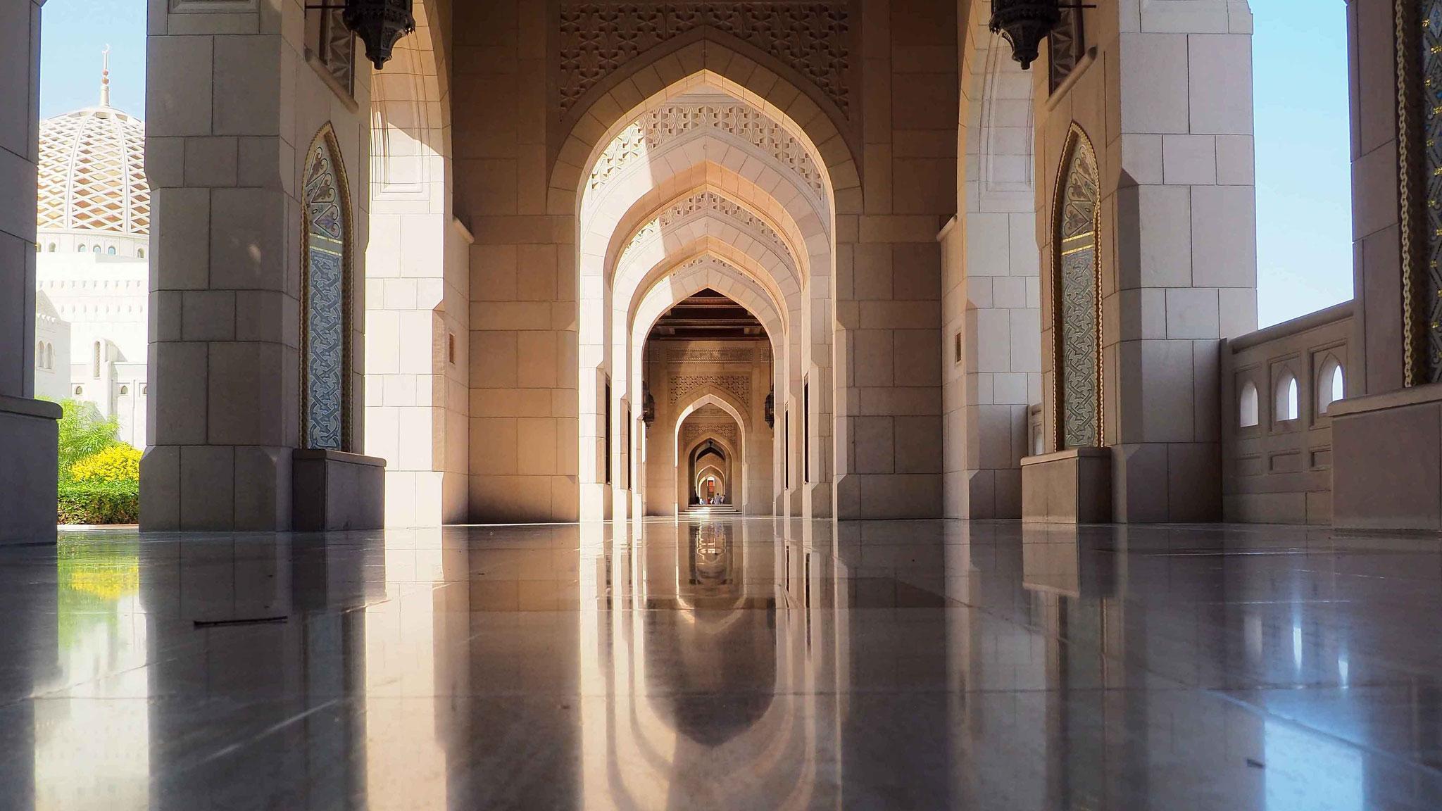Mosquée Sultan Qaboos - Mascate - Oman