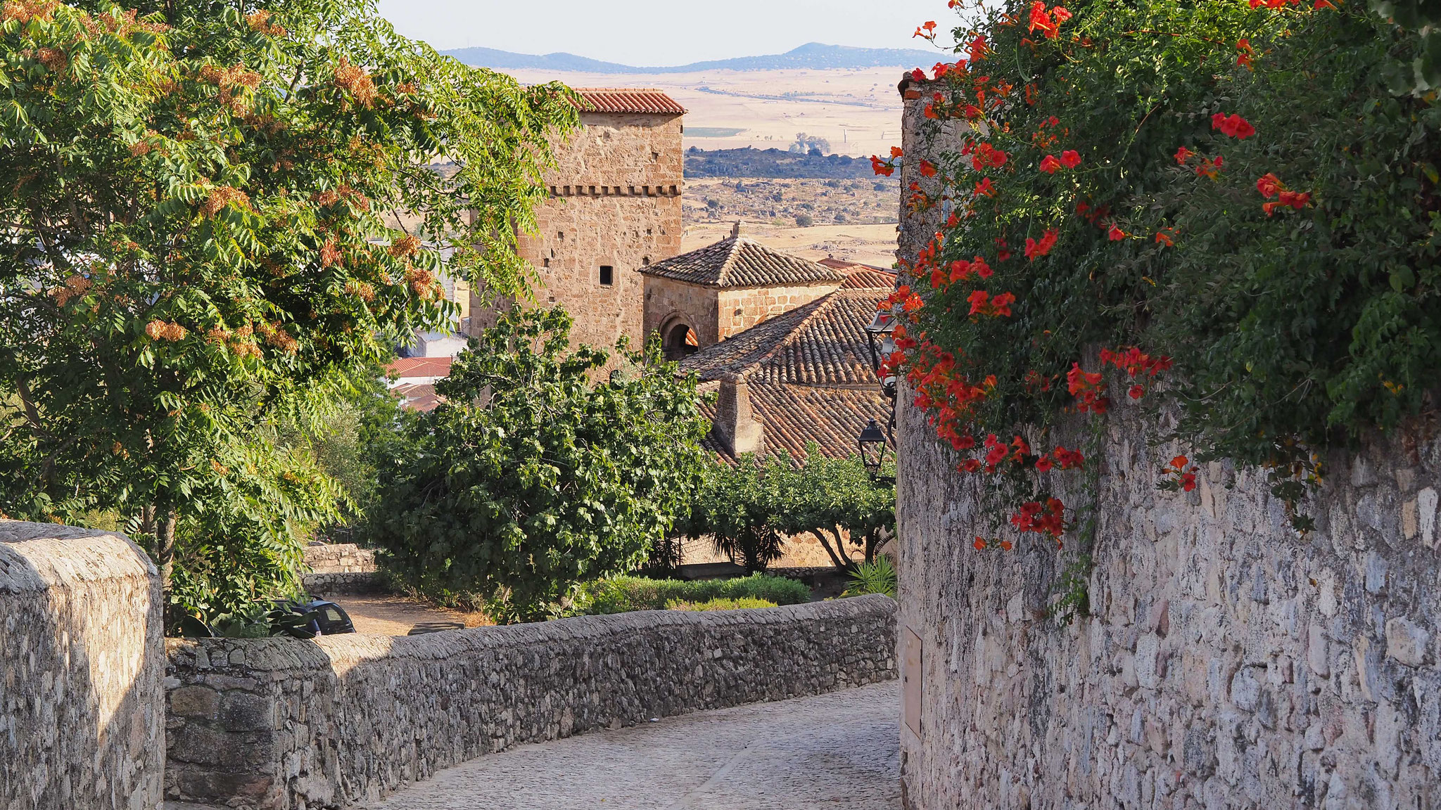 La magnifique cité de Trujillo - Espagne