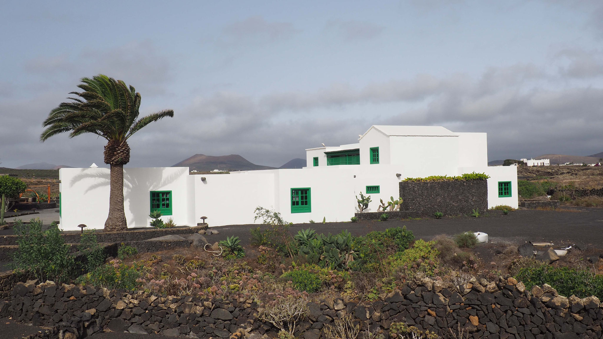 Les maisons blanches - Lanzarote - Canaries