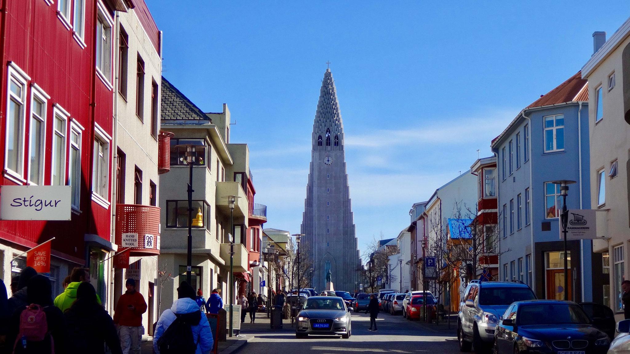 La capitale islandaise