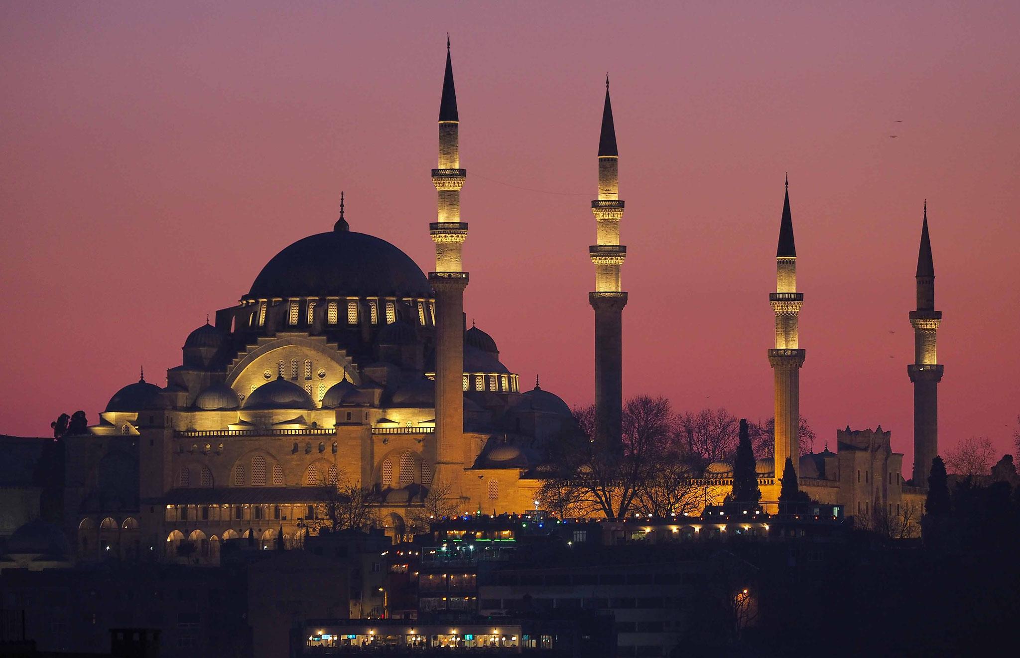 La Mosquée Soliman - Istanbul - Turquie