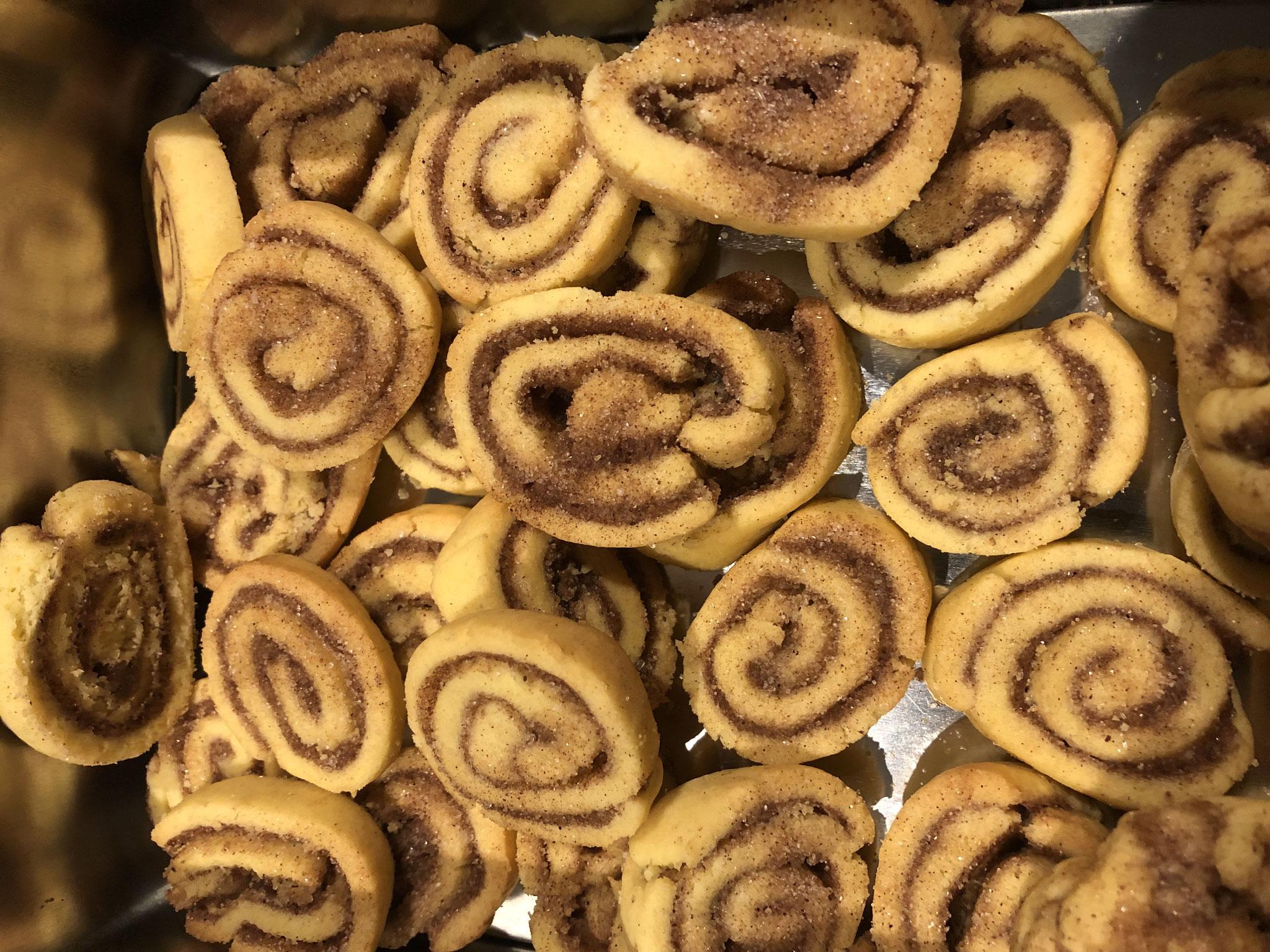 Zimtschnecken-Kekse, glutenfrei