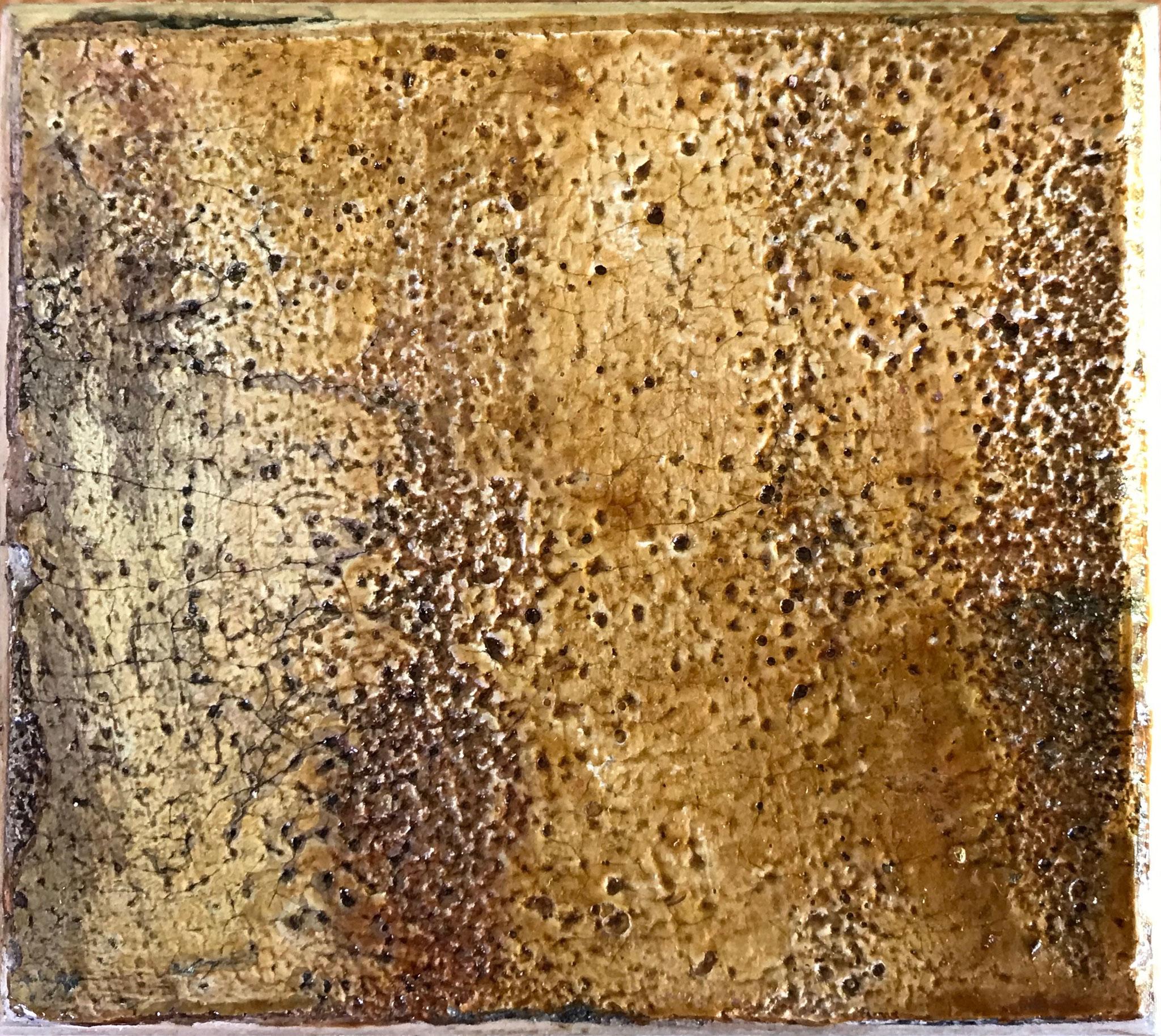 #6 Holzkiste - viereckig - ca. 9 x 8 x 3,8 cm (L/B/H)