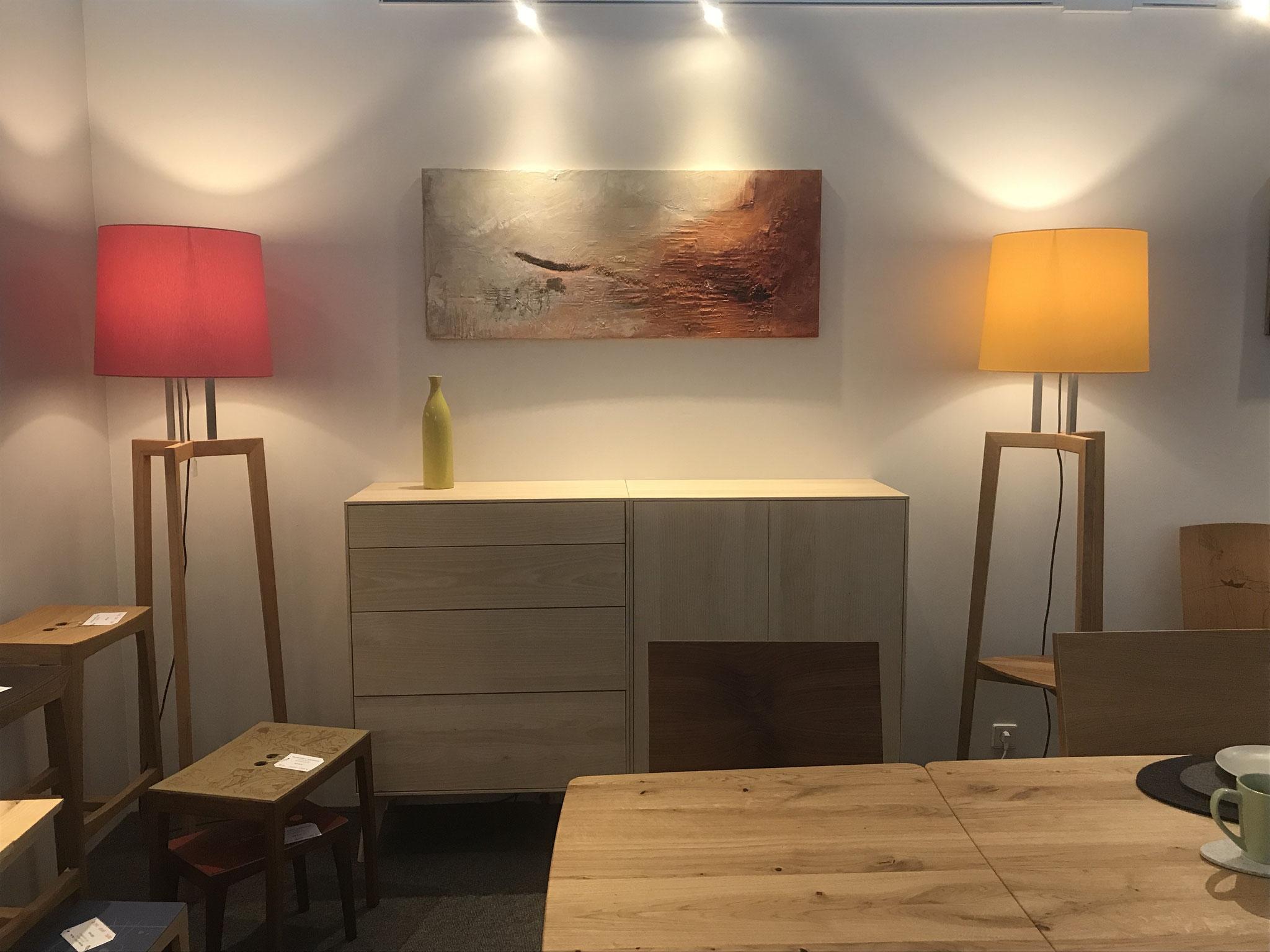Bei den wunderbaren Möbeln  im Möbelhaus Schneckenhaus, Offenburg