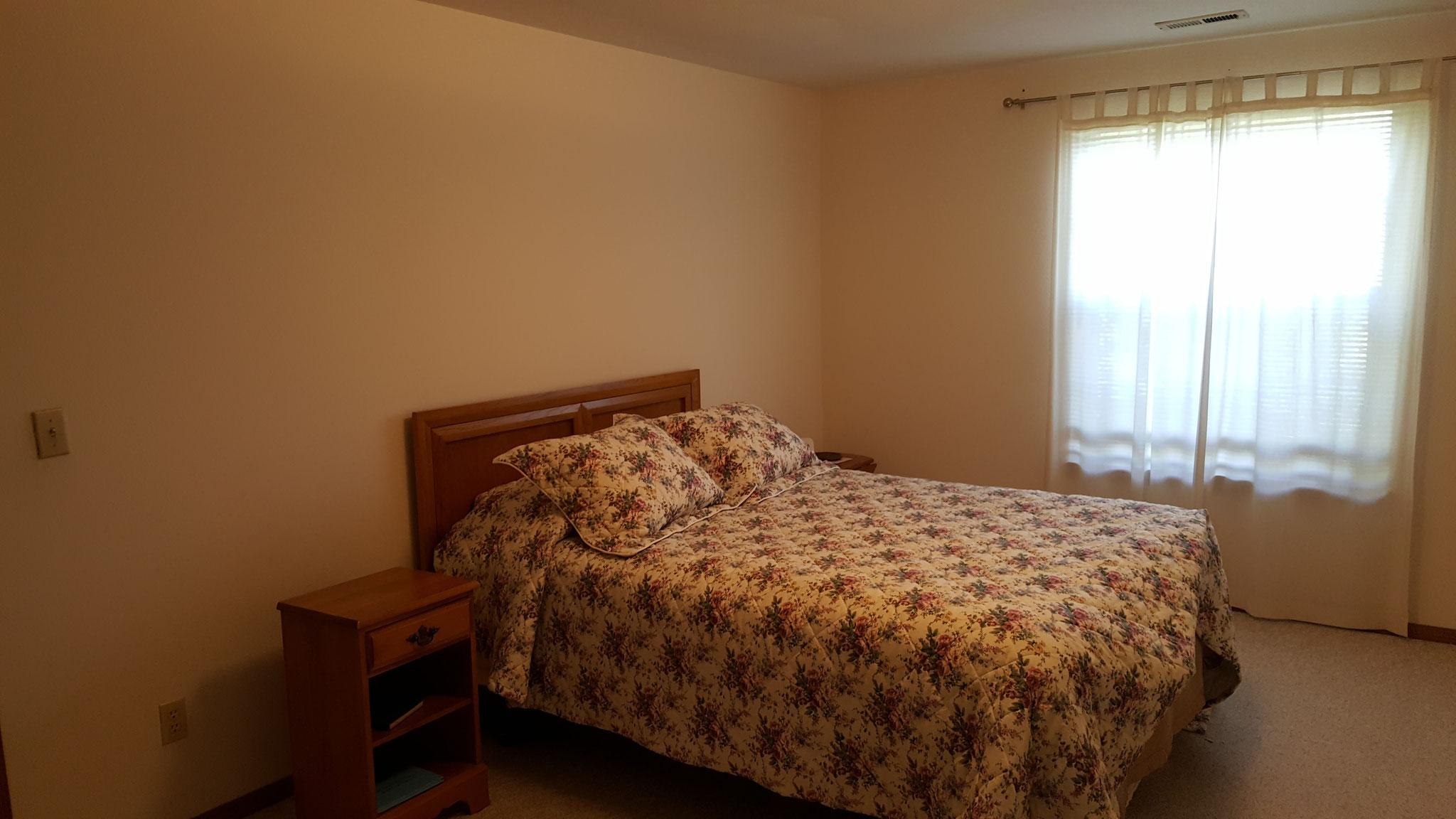 Bedroom Before Staging