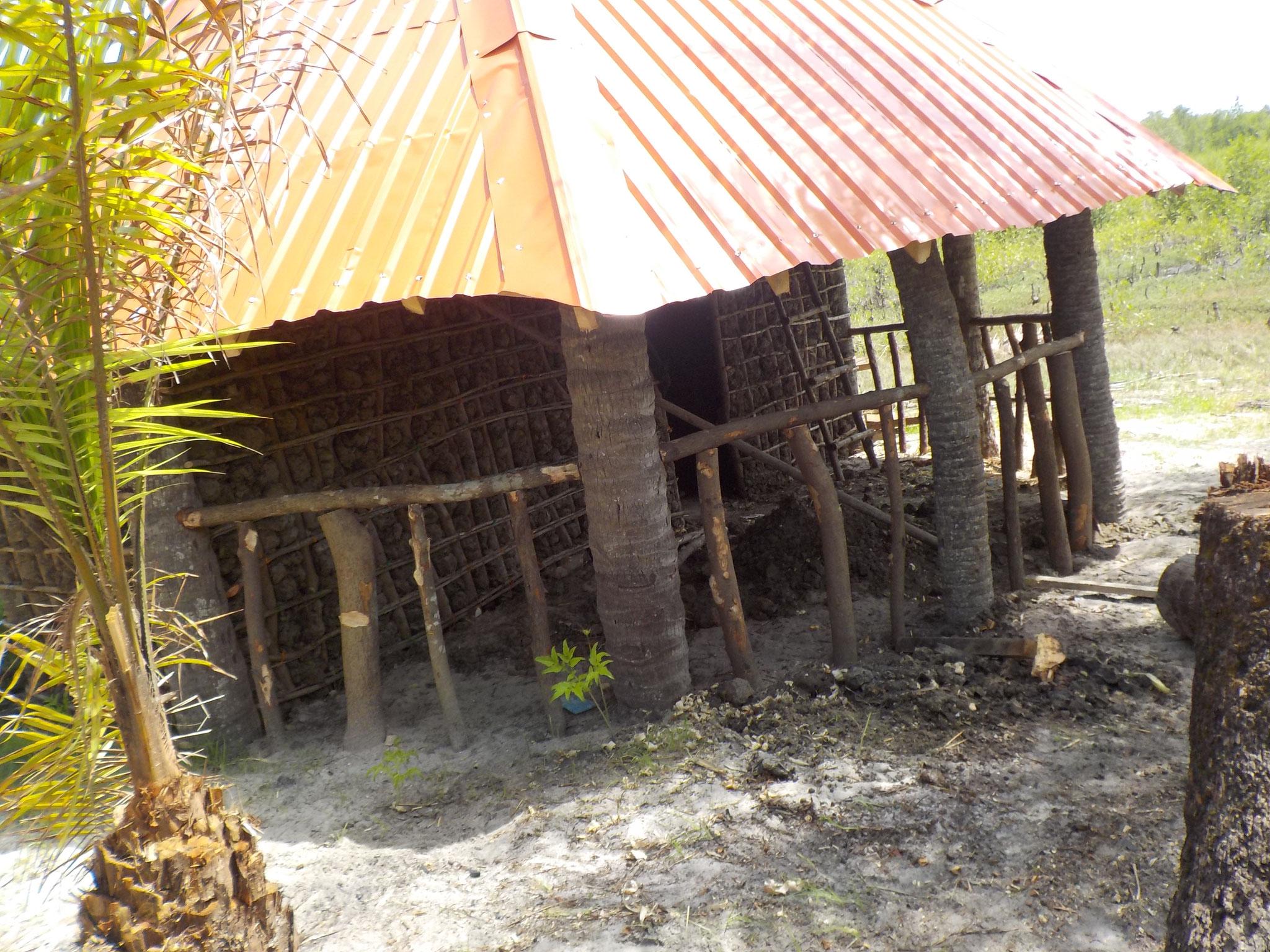 Hütte für den ersten Lehrer