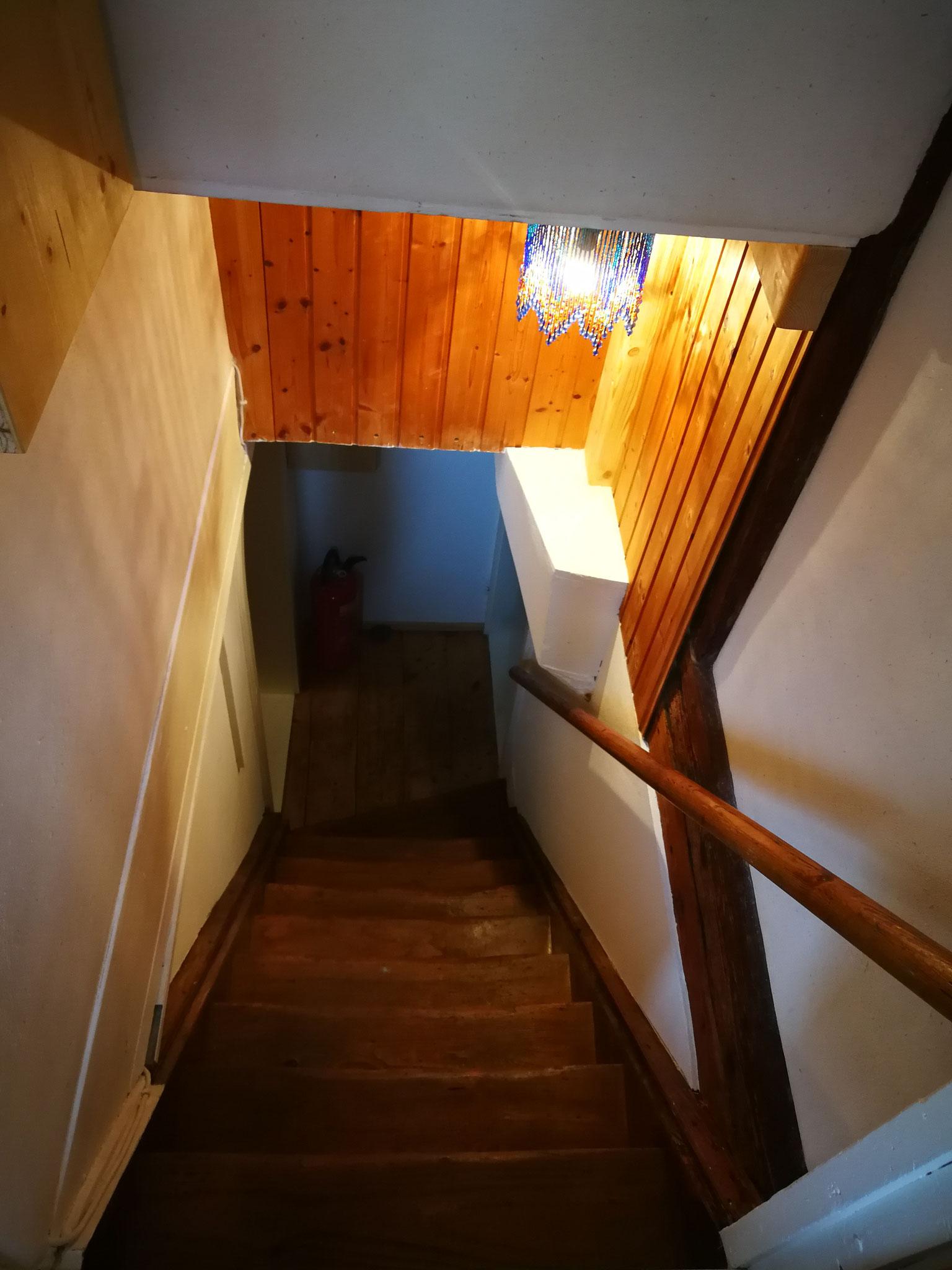Treppenaufgang - Eingang Wohnung
