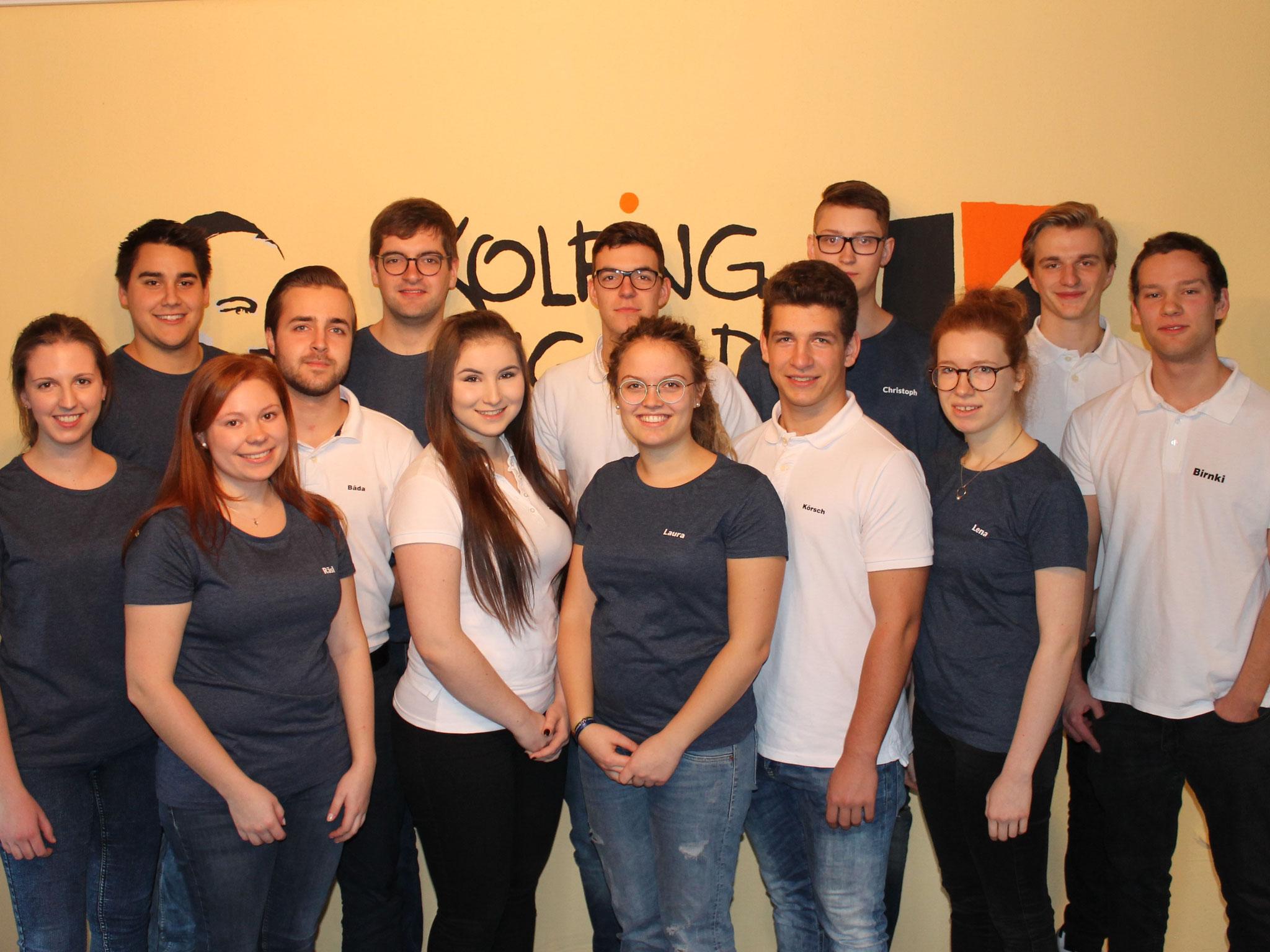 Vorstandschaft der Kolpingjugend Dingolfing 2017