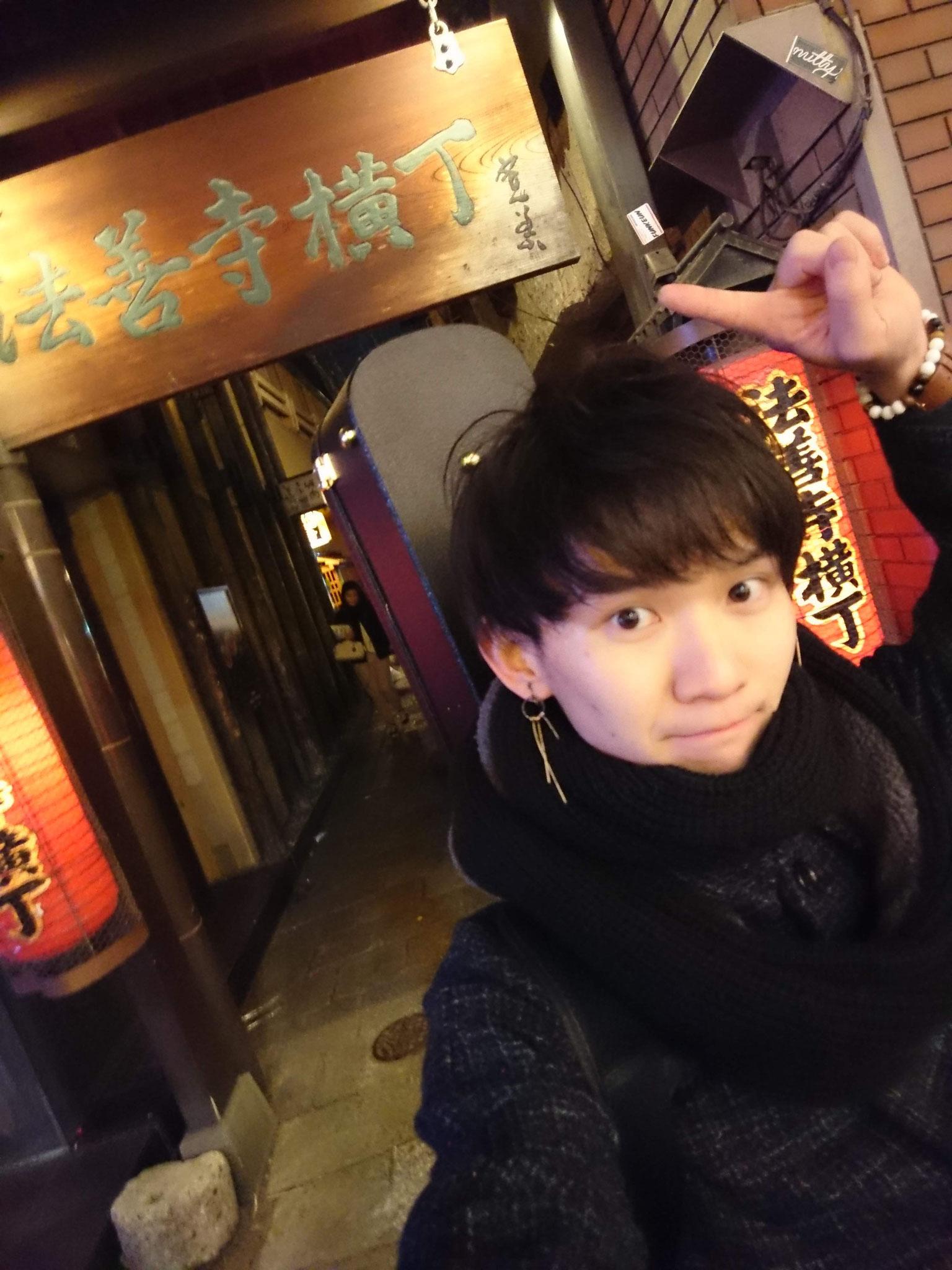 大阪ツアーに行ってオシャレな通りを見つけた