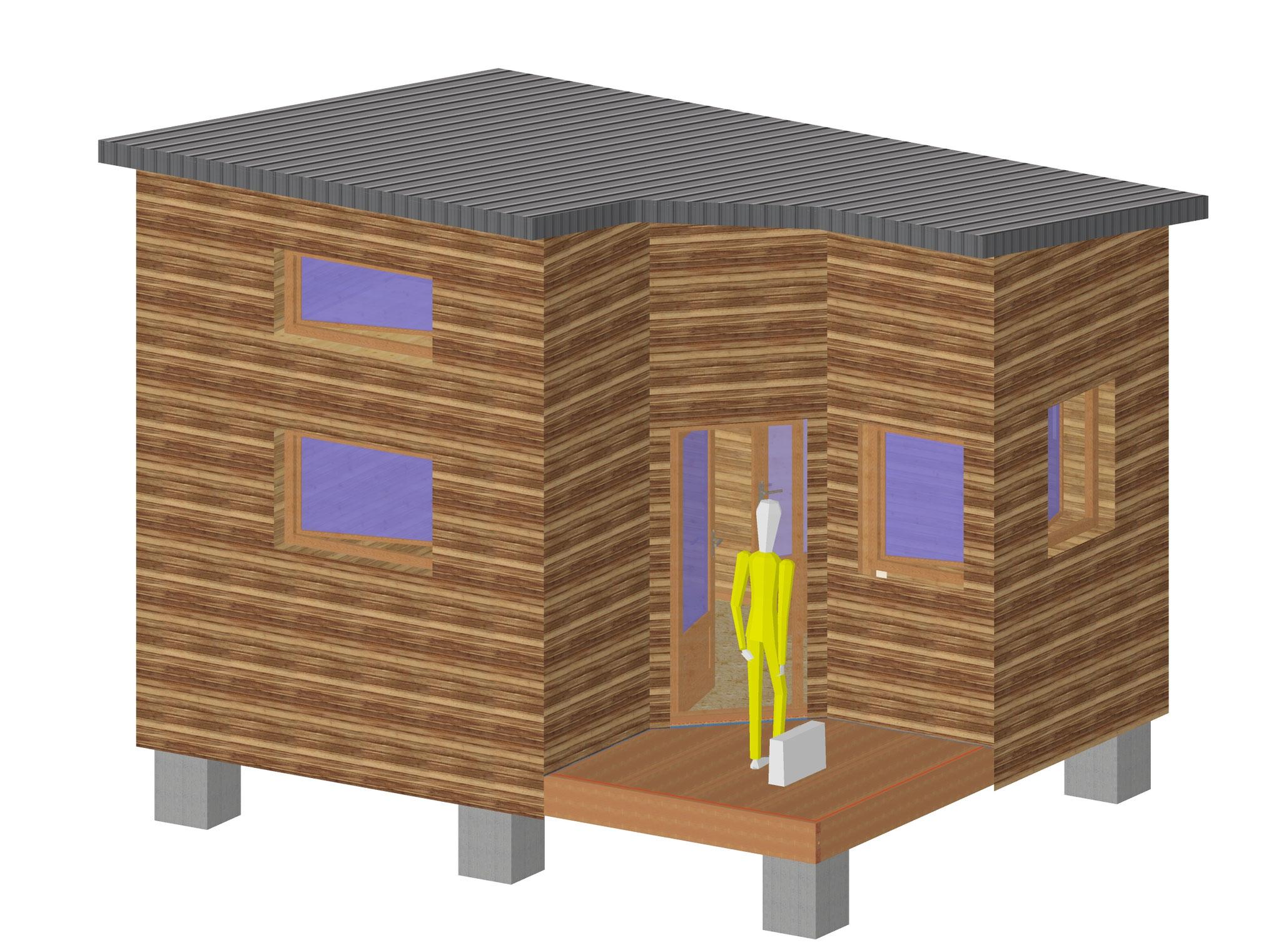 Cabane pour des espaces pro ou perso...