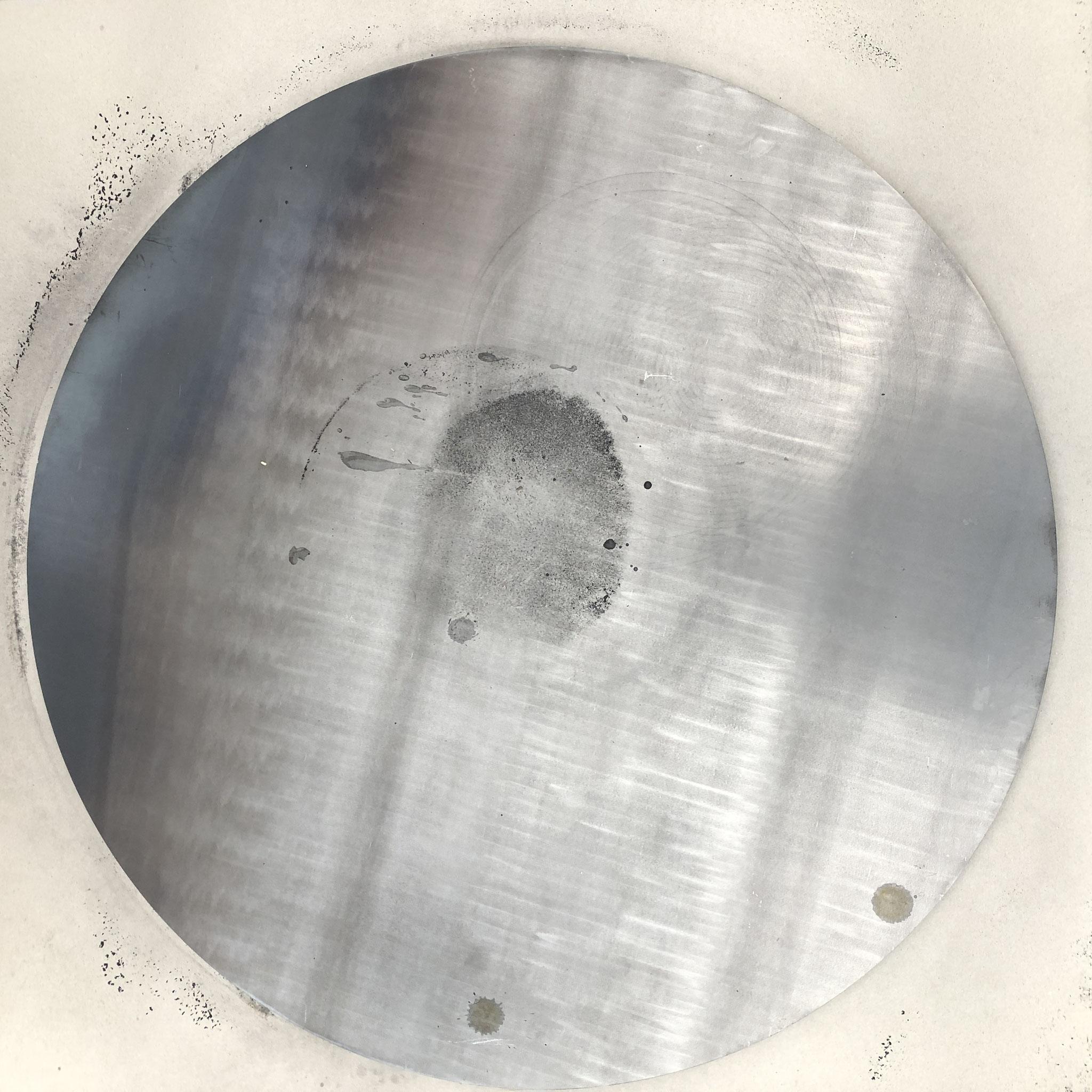 Kreisausschnitt in S235JR, 700x8mm