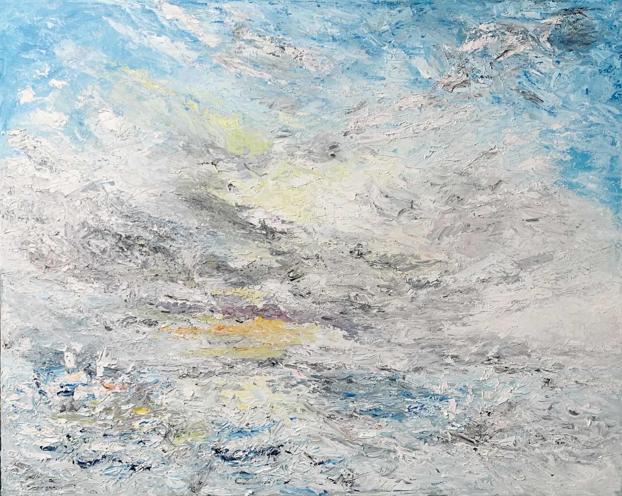 Sold - Seascape 18 - 100 x 80 cm