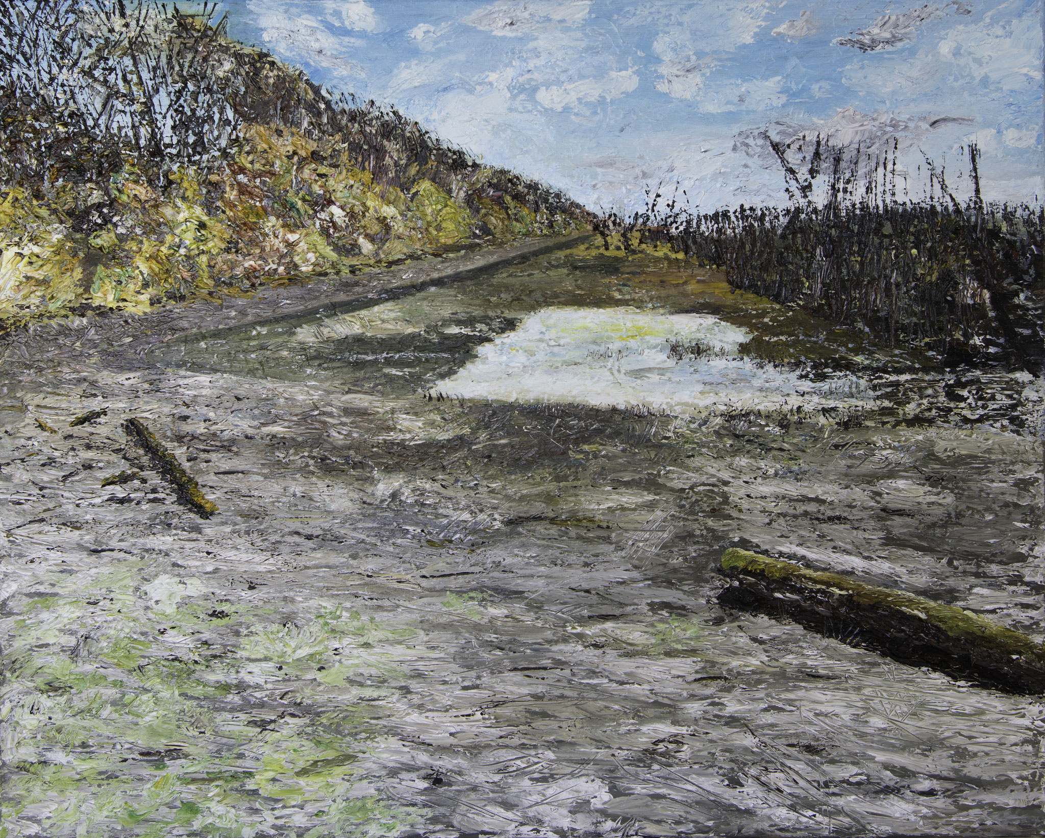 Landscape 6 - 100 x 80 cm