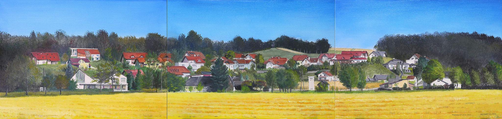 """Wandgestaltung """"Sommer in Thurnhof anno 2011"""""""