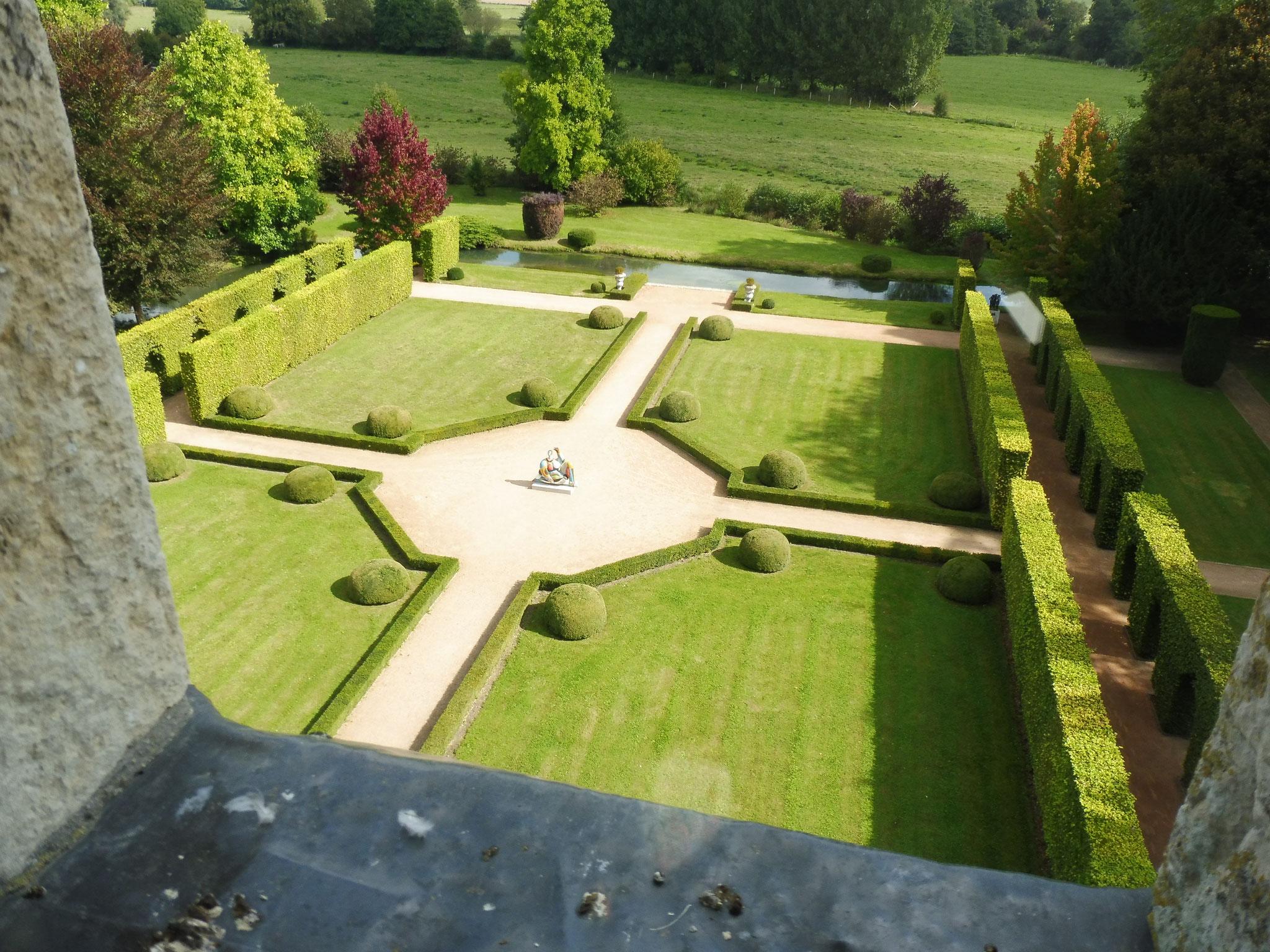 Le Jardin à la française - les galeries de hêtres