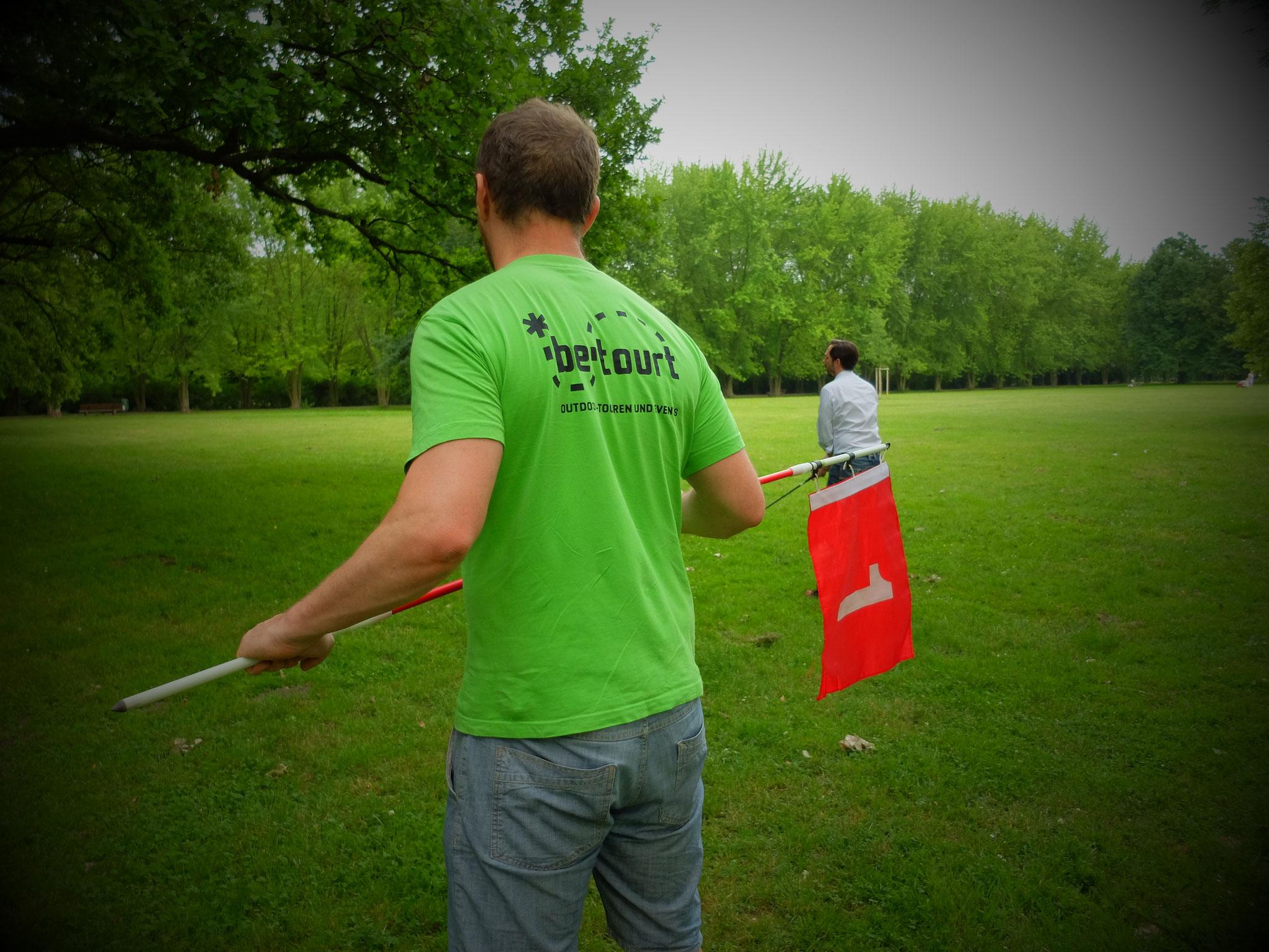 Crossgolf in Leipziger Parks
