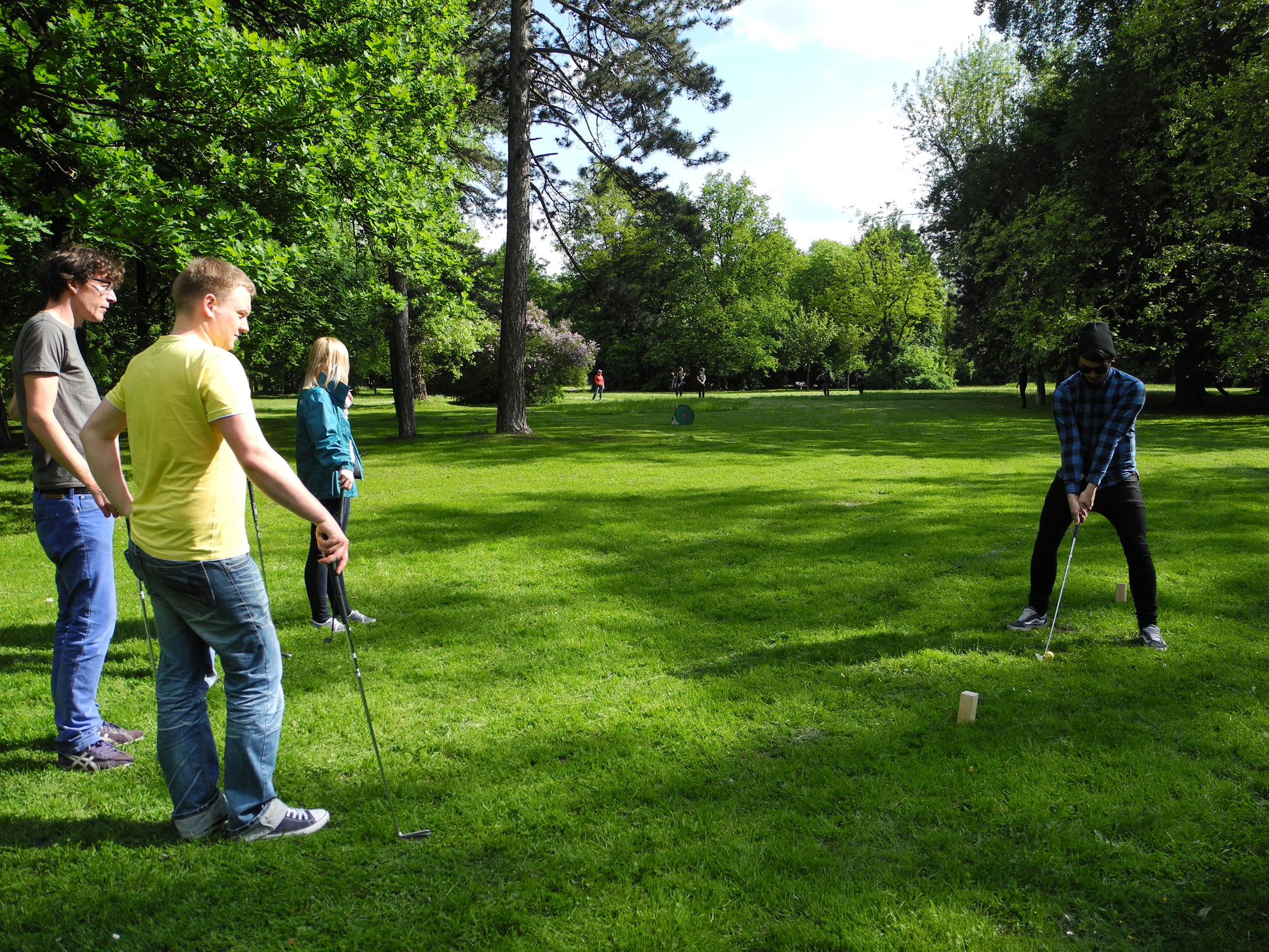 Crossgolf als Teamevent