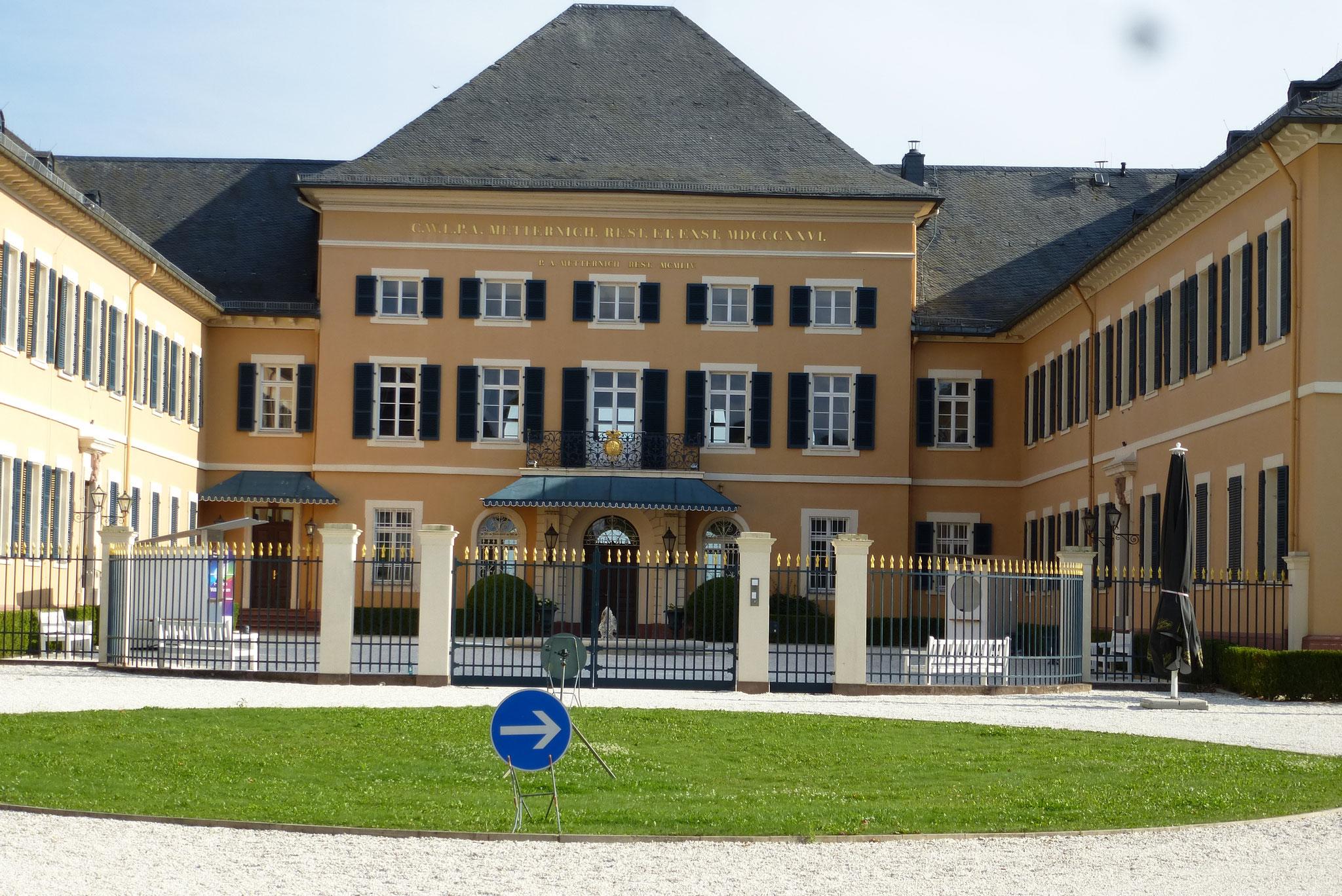 Schloss Johannisberg near Burg Schwarzenstein