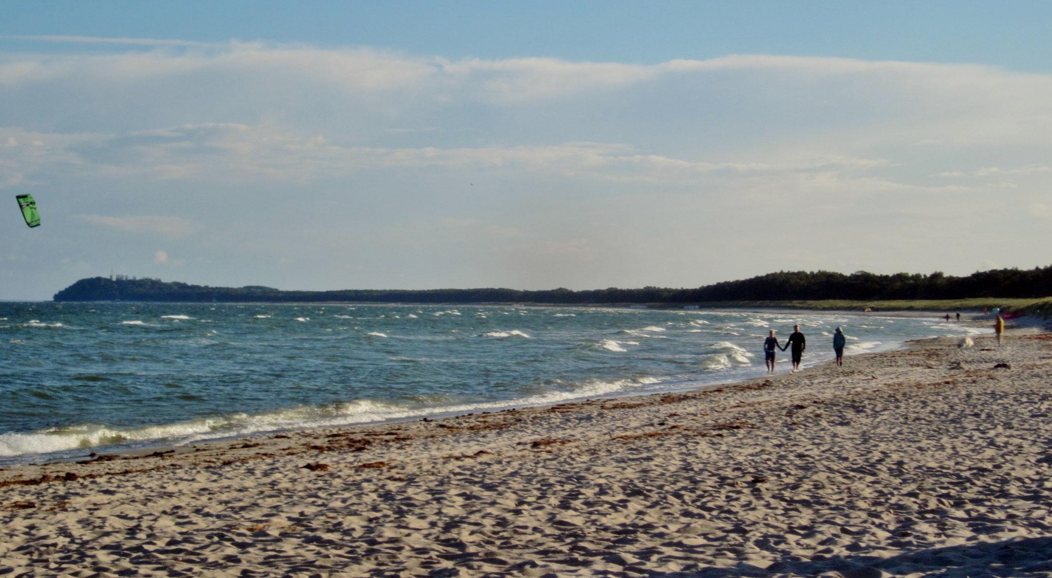 Feinsandig und Breit...Ideal zum Kiten und Surfen