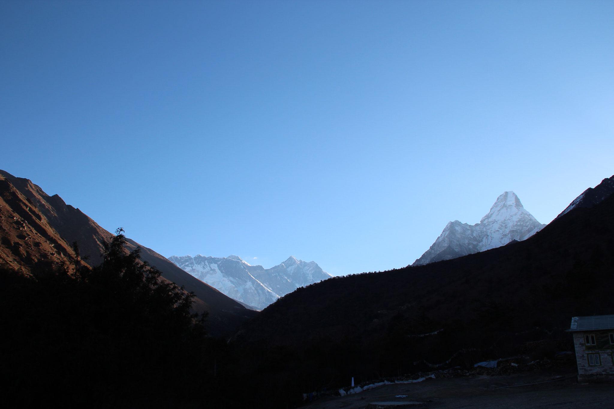 Nepal 2013. Der einzig weibliche Berg: die Ama Dablam.
