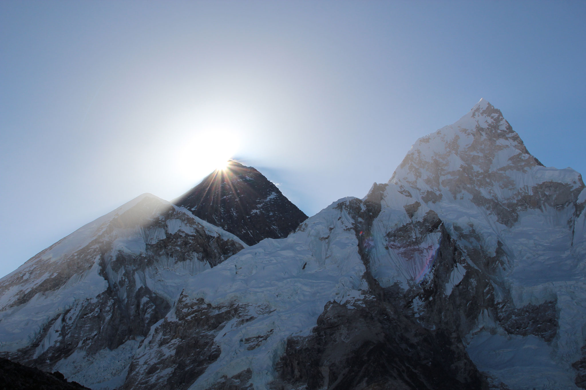 Nepal. Just wow! Sonnenaufgang hinterm Everest. 2013