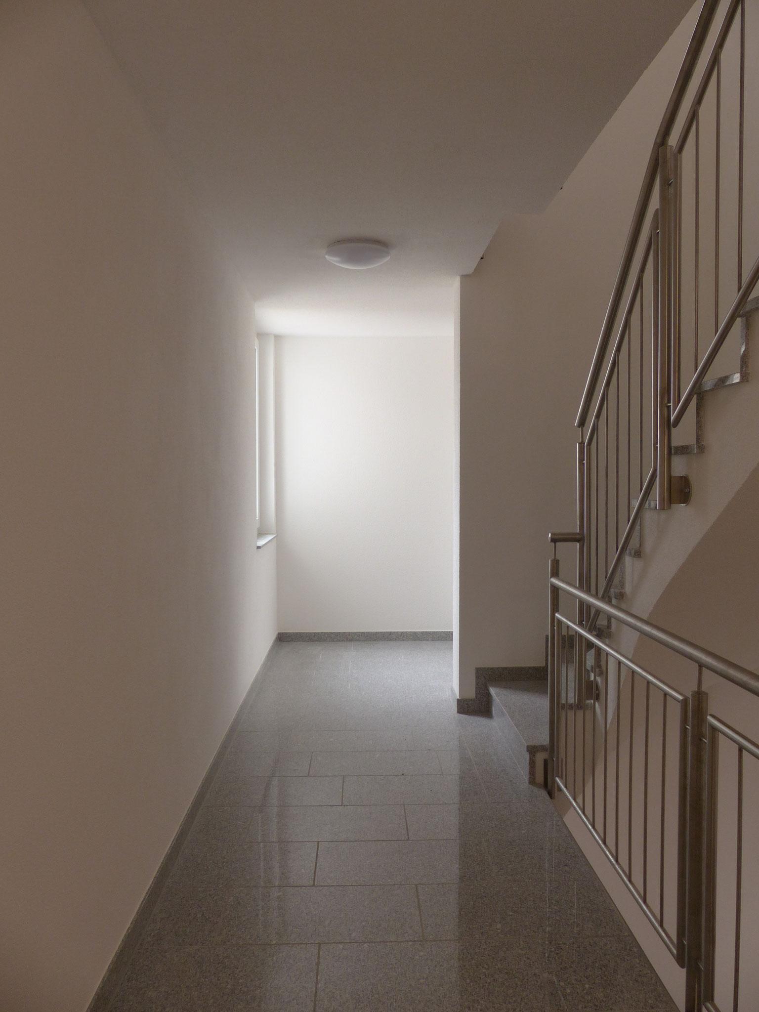 minerl. Oberputz an Wand- und Deckenflächen