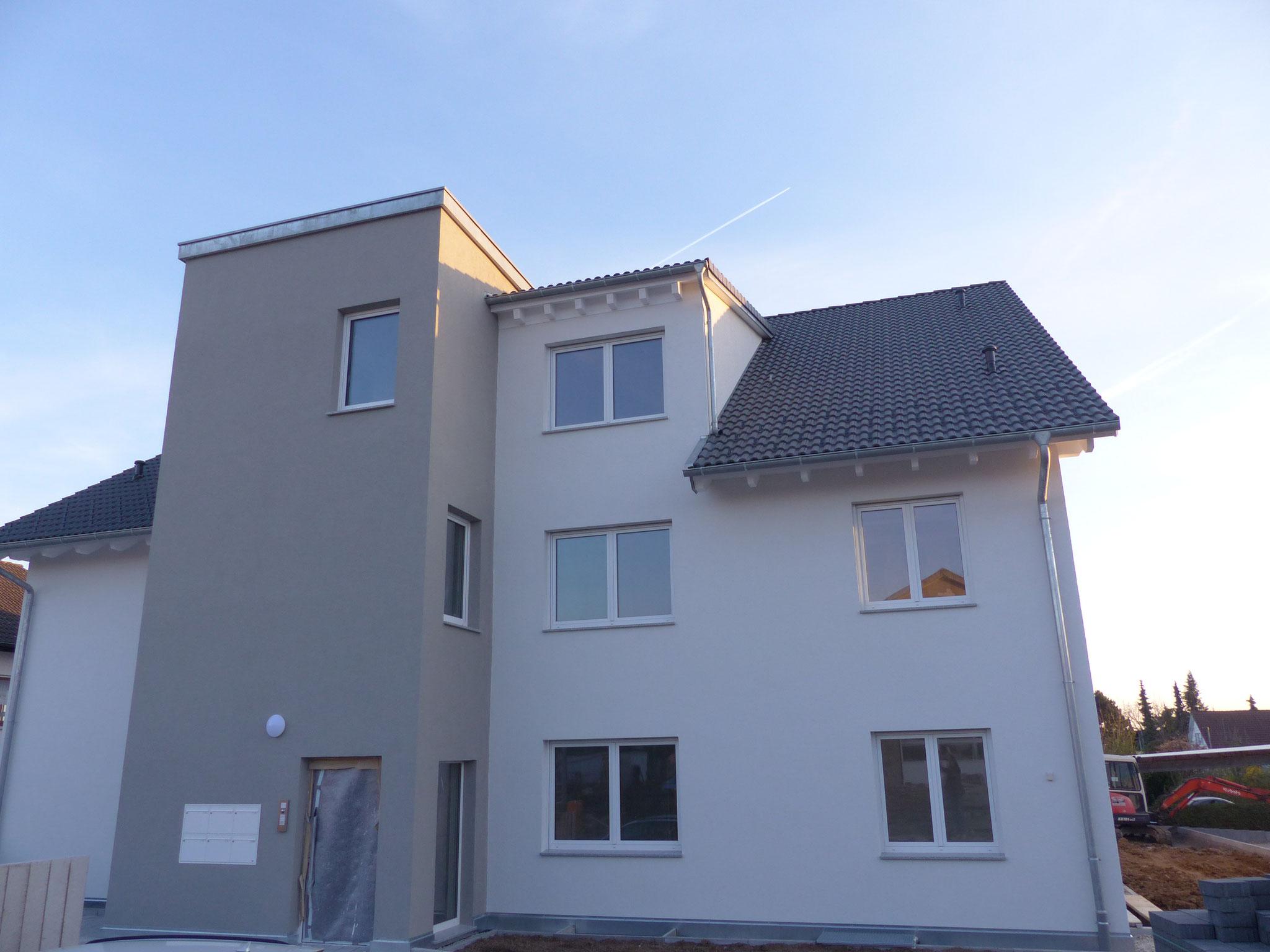 Außenputz inkl. Fassadenanstrich und -gestaltung