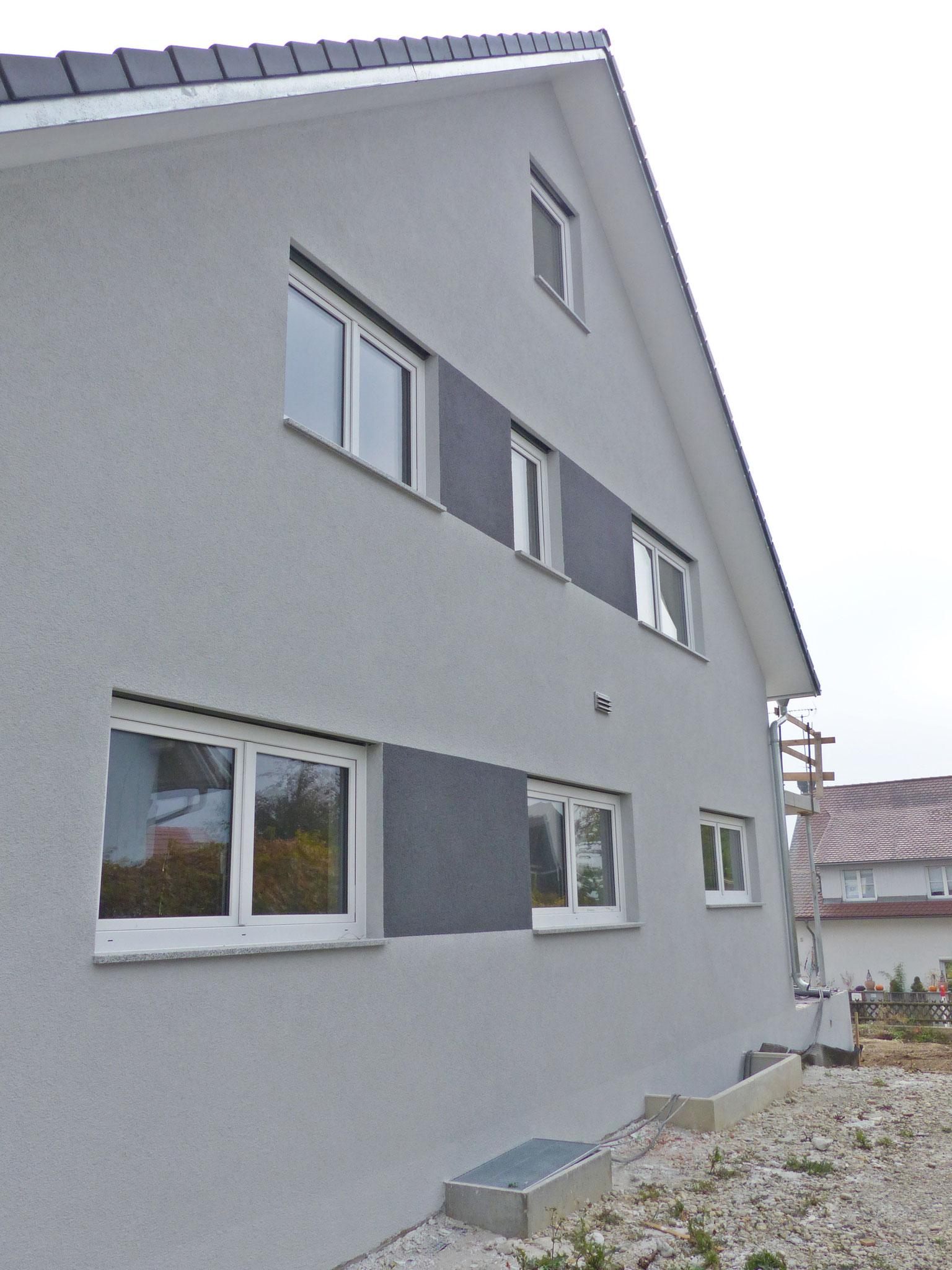 Außenputz und Fassadenanstrich