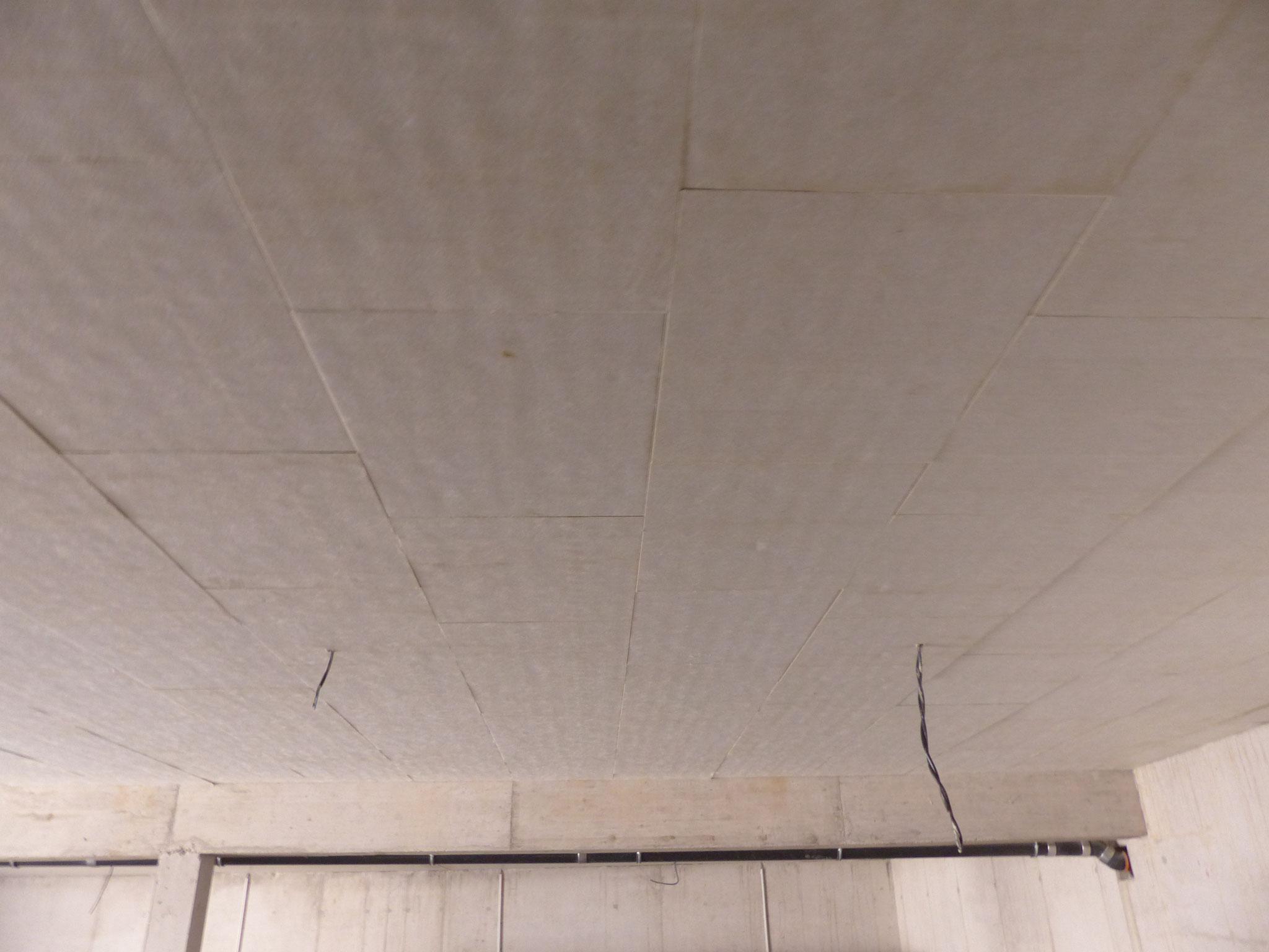Dämmung einer Garagendecke