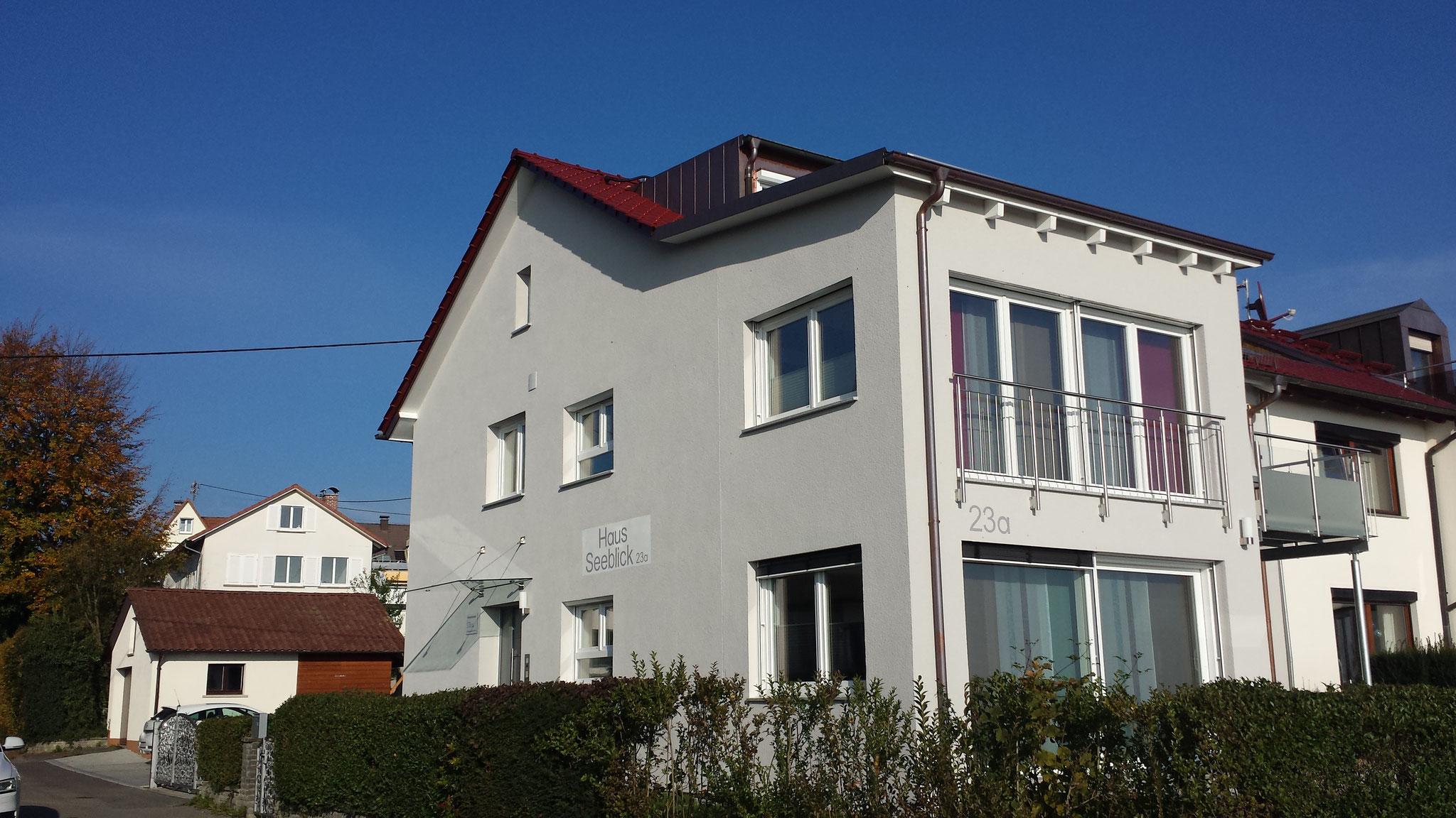 neue Ansicht Haus