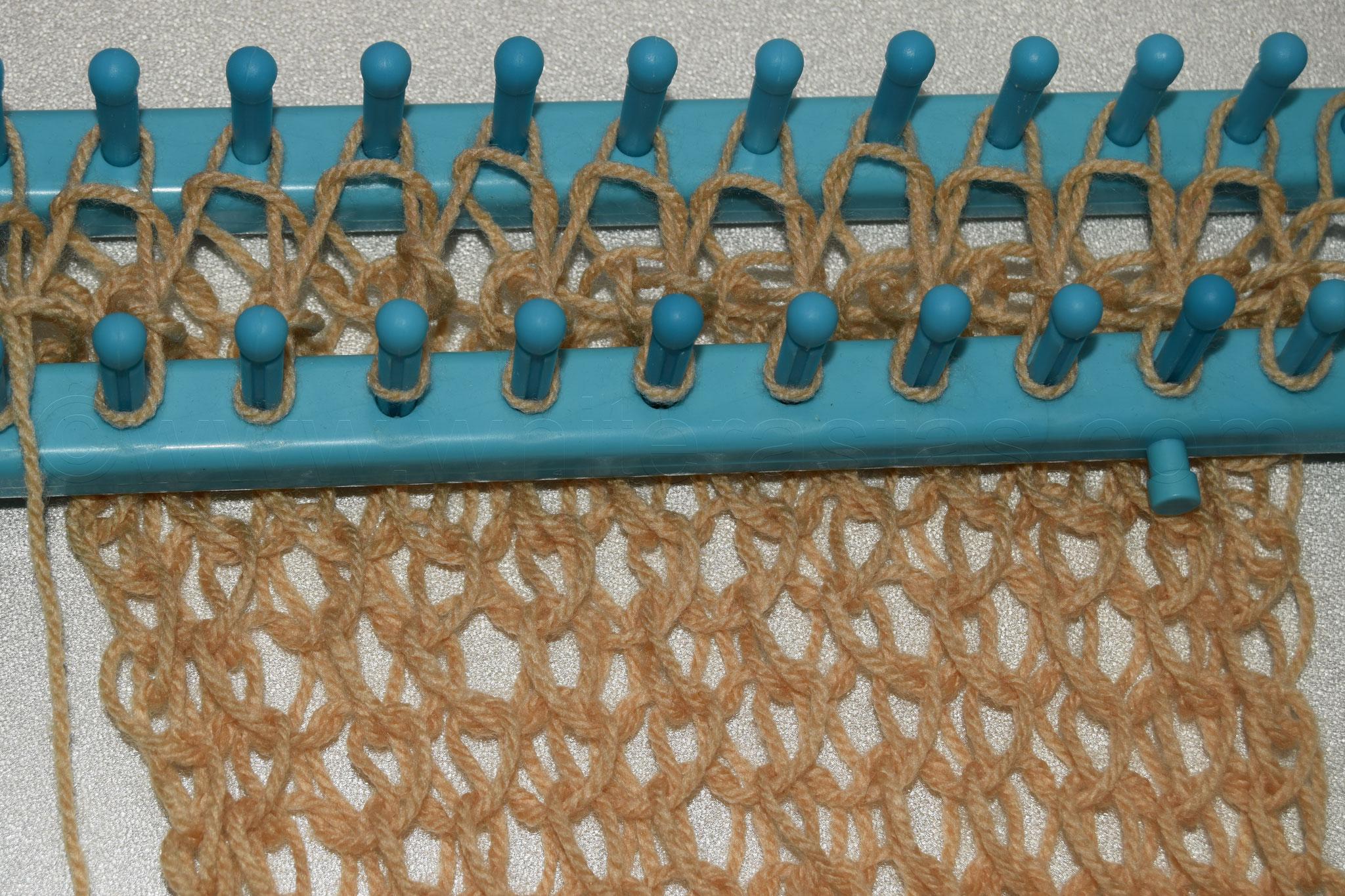 Muster 6: Vorderseite, aus Acryl Garn in Nadelstärke 2-3