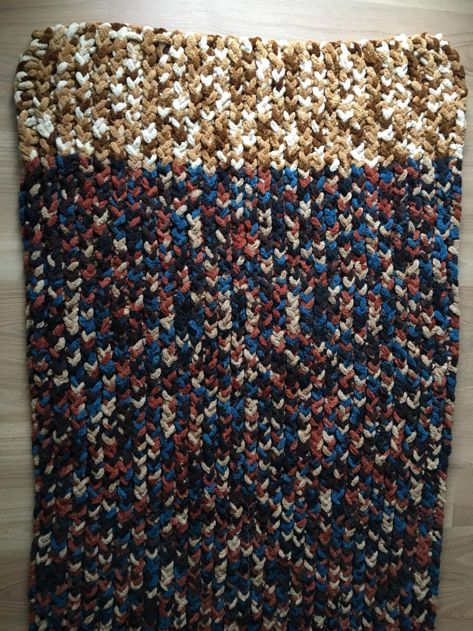 aus polyester wolle in nadelstrke 8 9 - Strickrahmen Muster