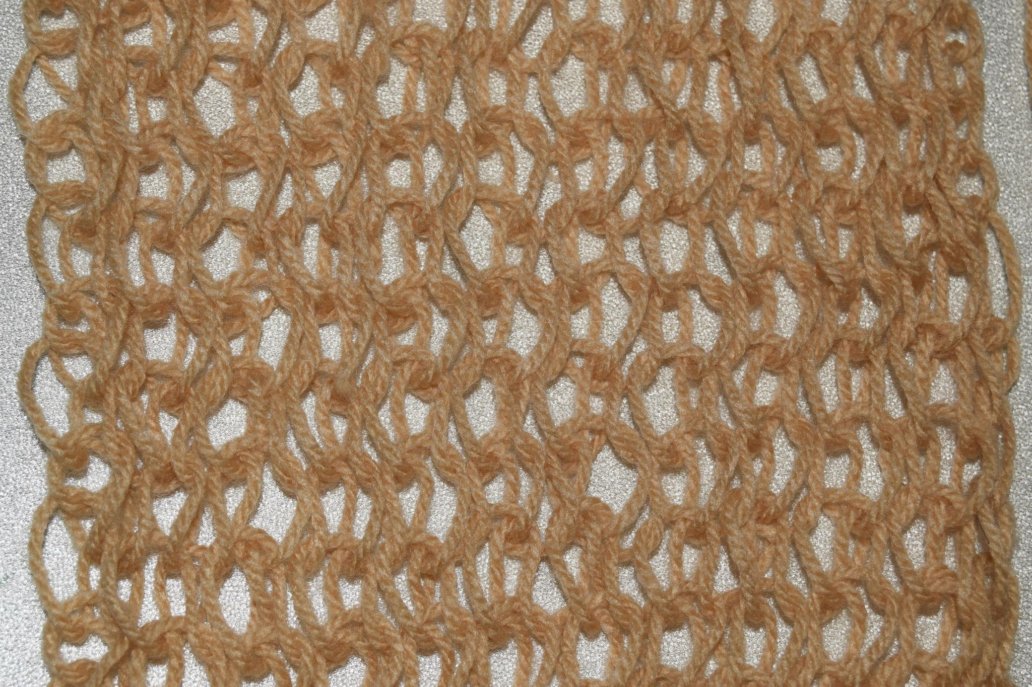 Muster 6: Rückseite, aus Acryl Garn in Nadelstärke 2-3