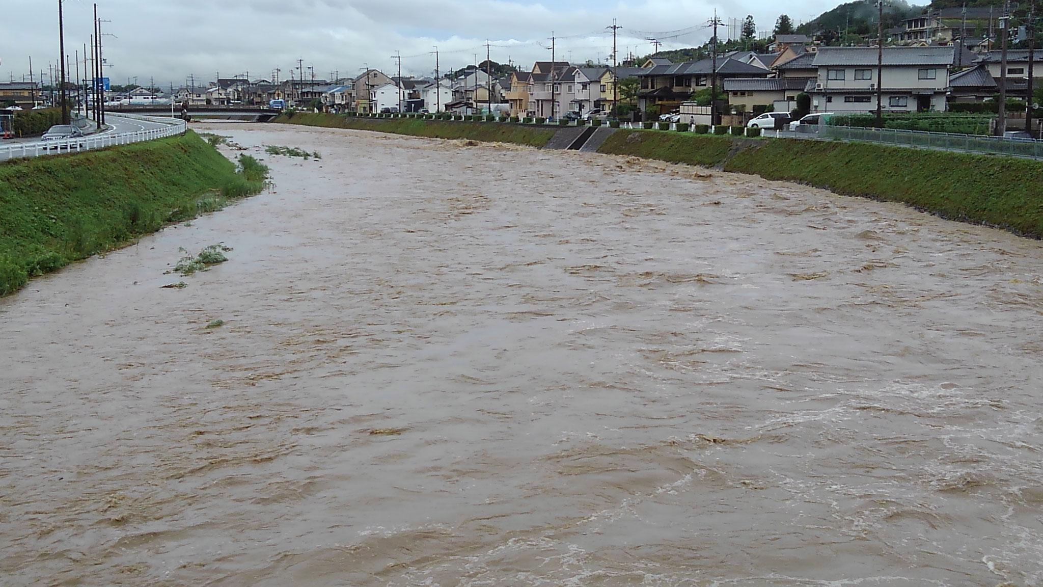 庄田橋から下流