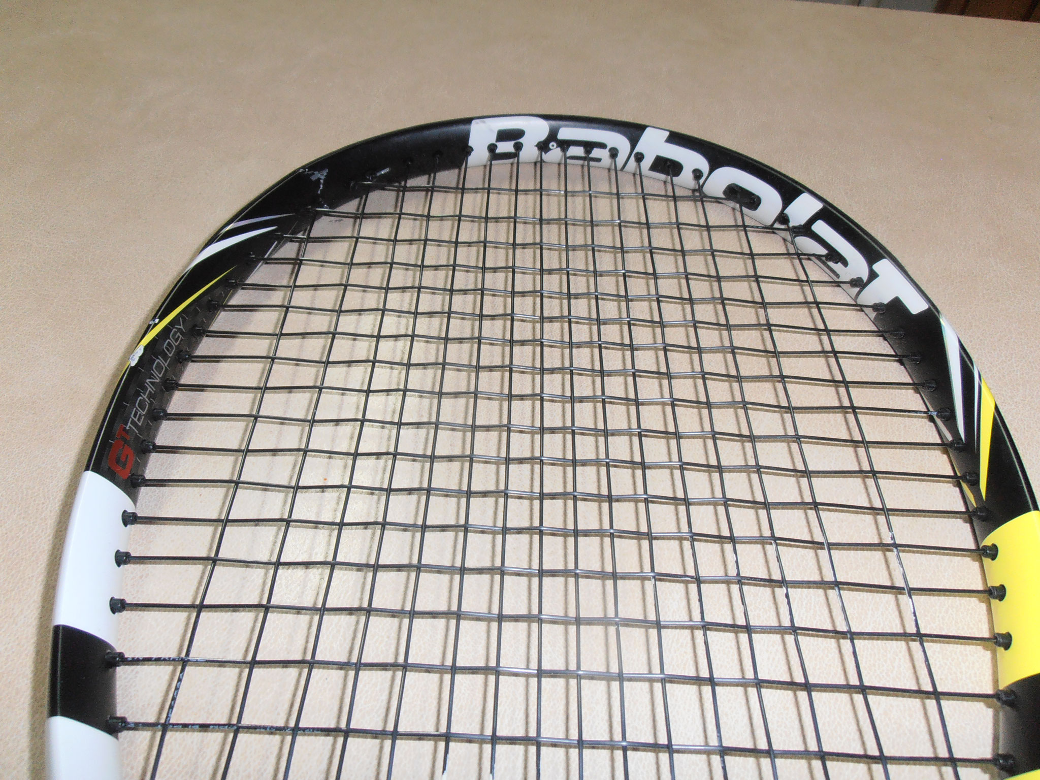 Tennis Racquet - Before Repair