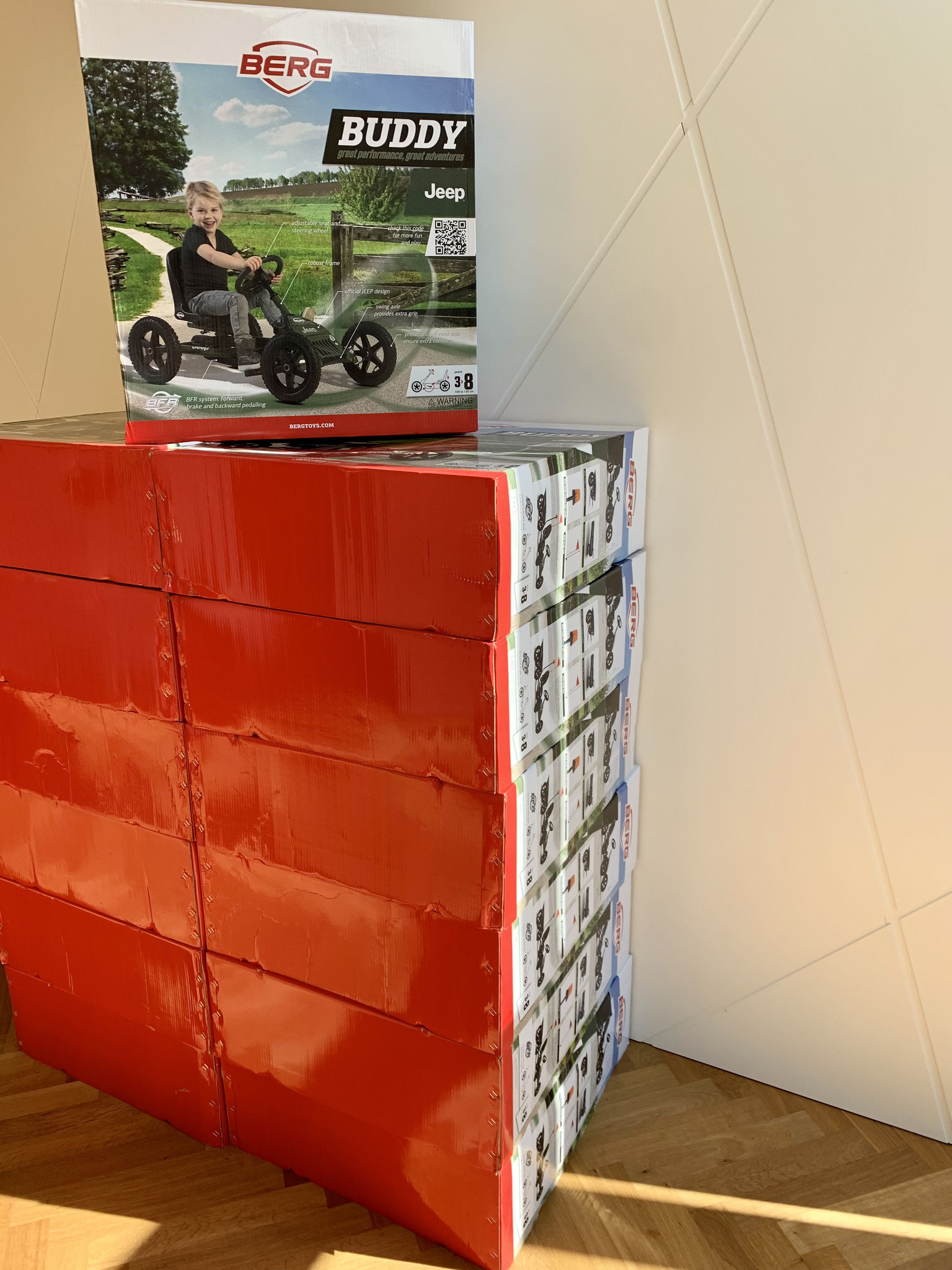 Neue Kettcar Go-Kart Fahrzeuge