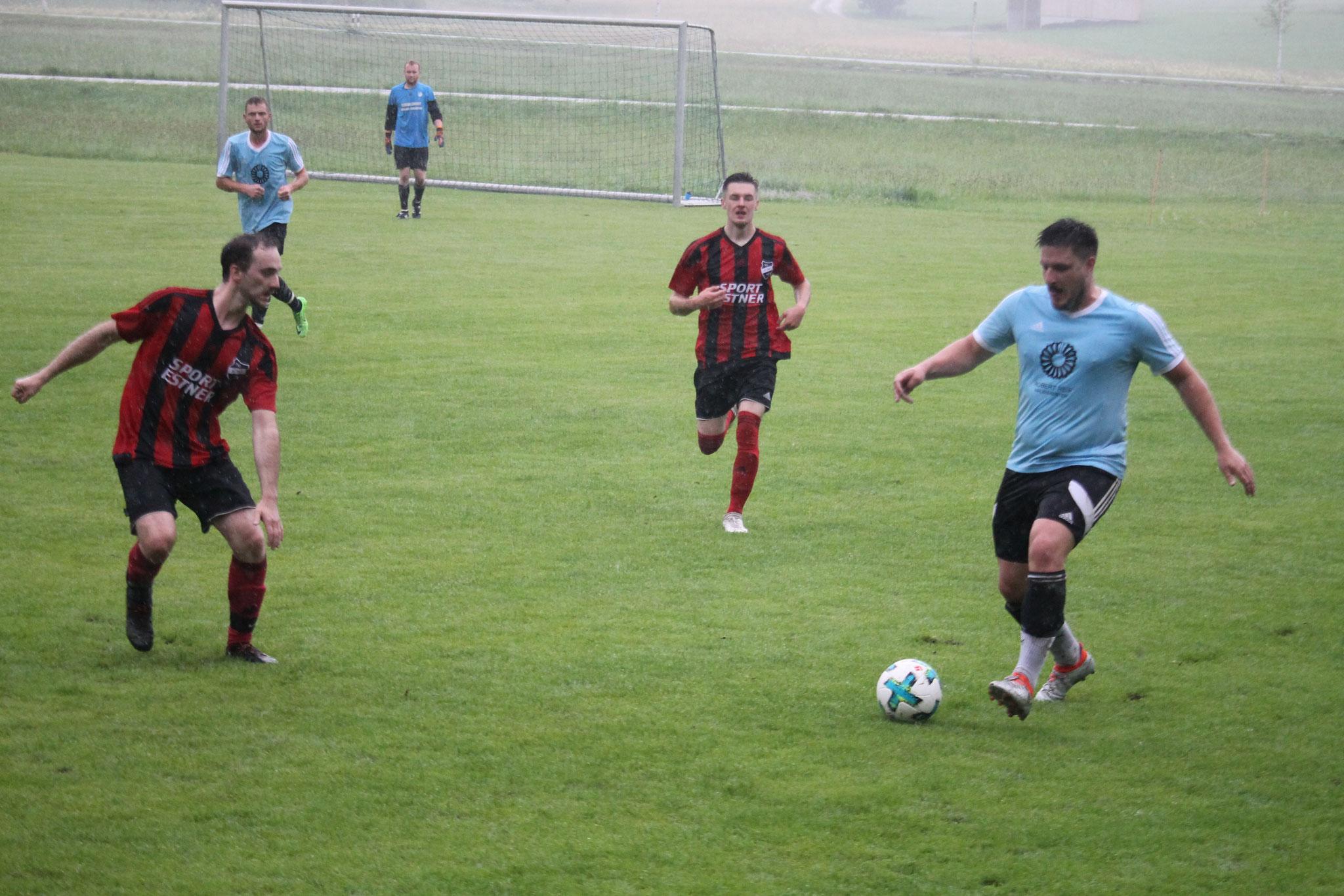 Testspiel bei der SG Baiernrain / Dietramszell, Juli 2021