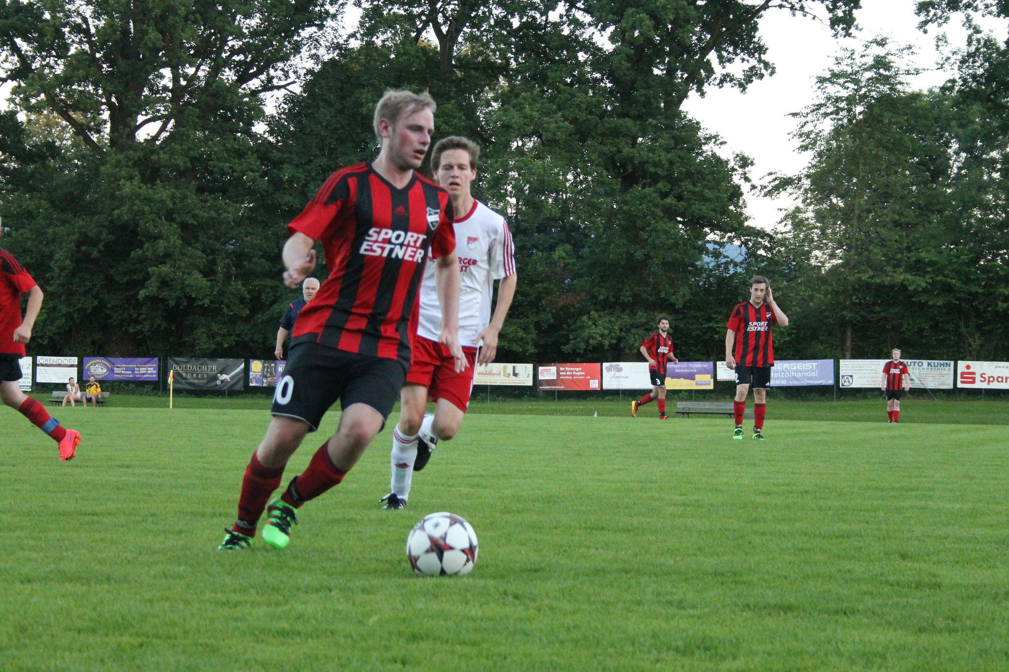 Pokalspiel gegen den SV Miesbach (0:4) im Juli 2016