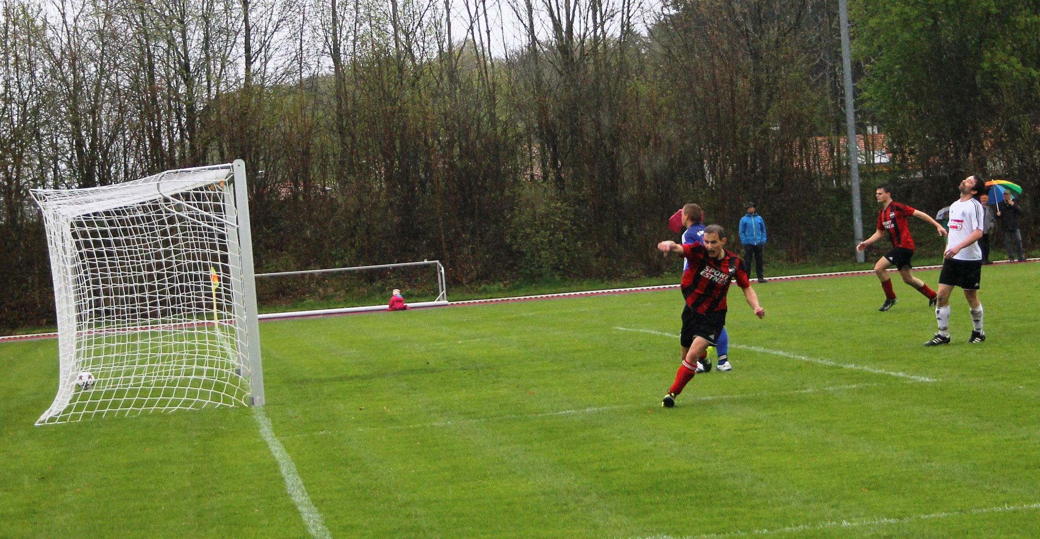 Siegtor gegen FC Rottach (2:1) am 17.4.2016