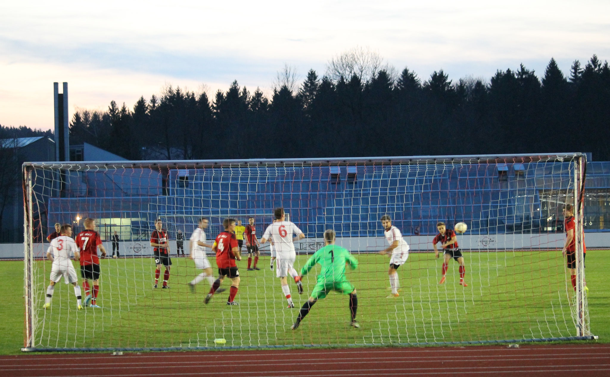 Tor zum 2:0 gegen SG Hausham II am 31.3.2017