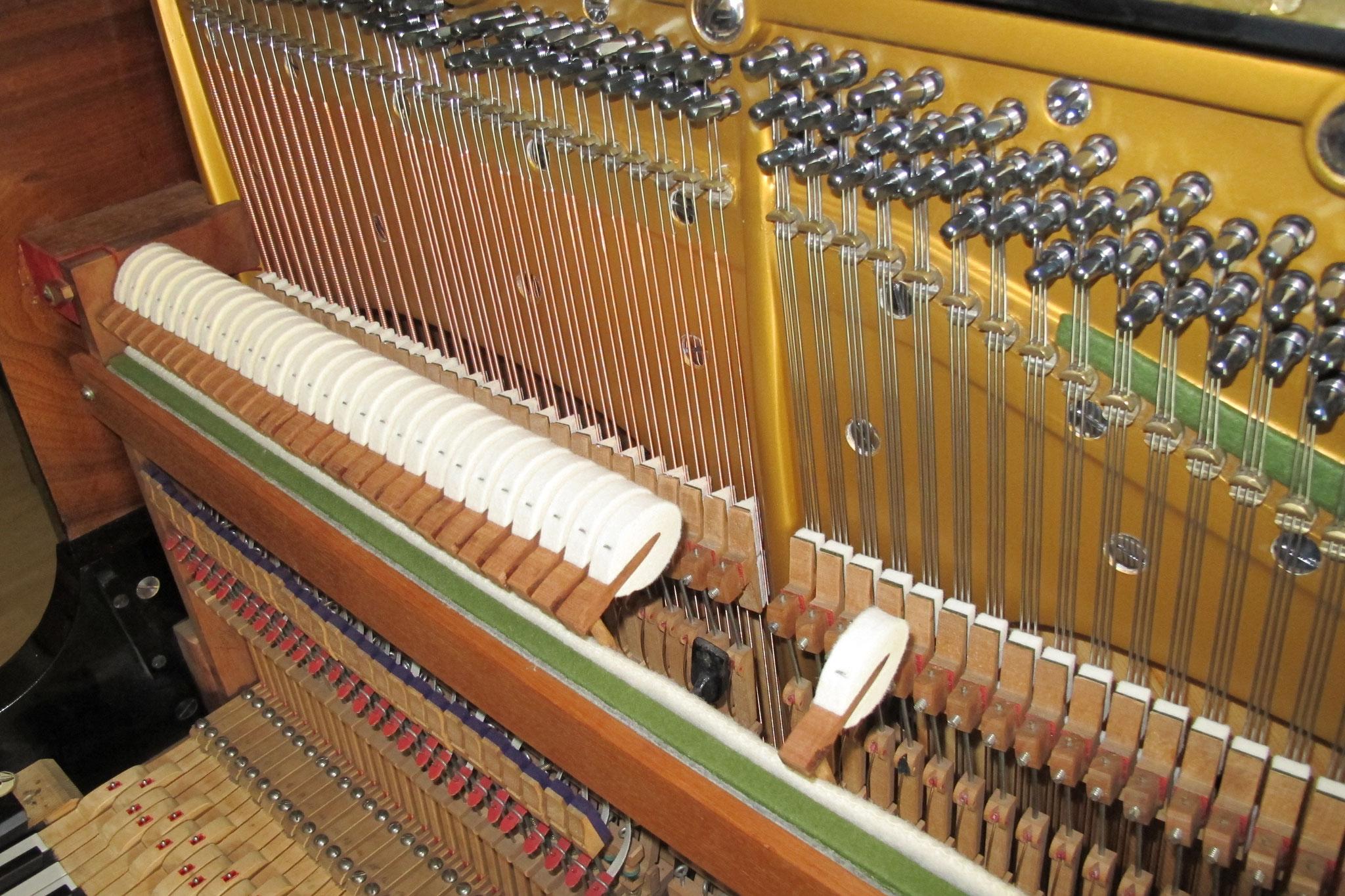 Klavierhämmer einschrauben