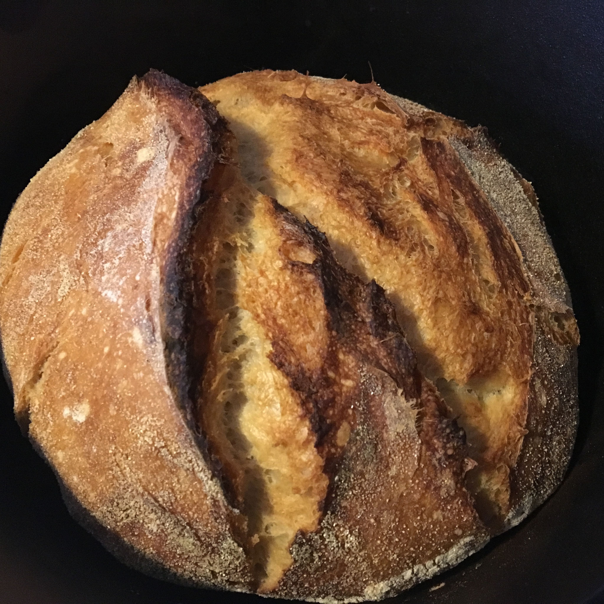 My first loaf of sourdough