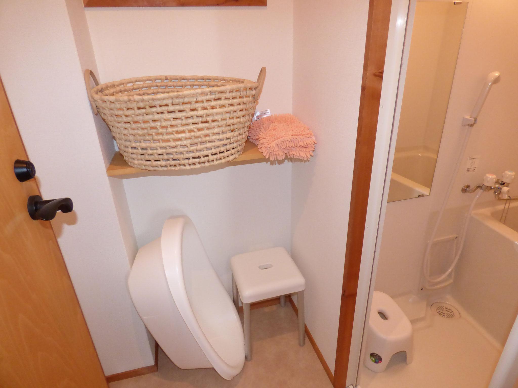 浴室 べビーバスもあり