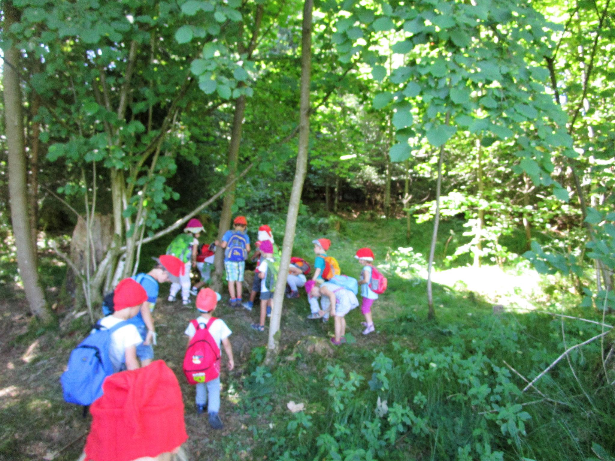 Großer Kinderhaus Ausflug in das Kloster Oberschönenfeld
