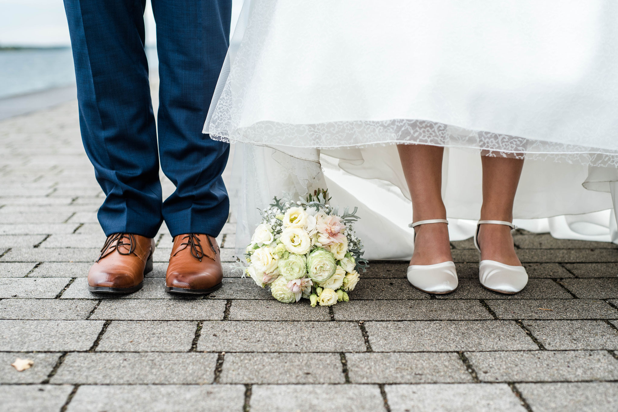 Hochzeitsfotograf Bitterfeld, Villa am Bernsteinsee in Bitterfeld, Hochzeitsfotos am See