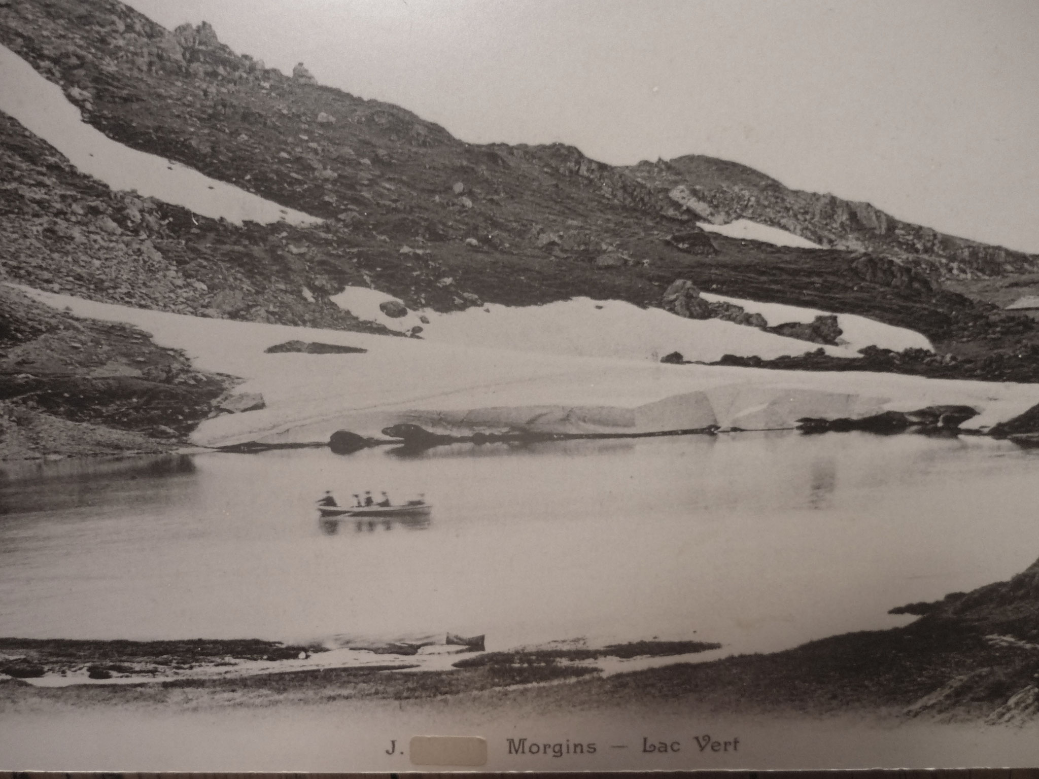 The Lac Vert at the beginning of the 20th century
