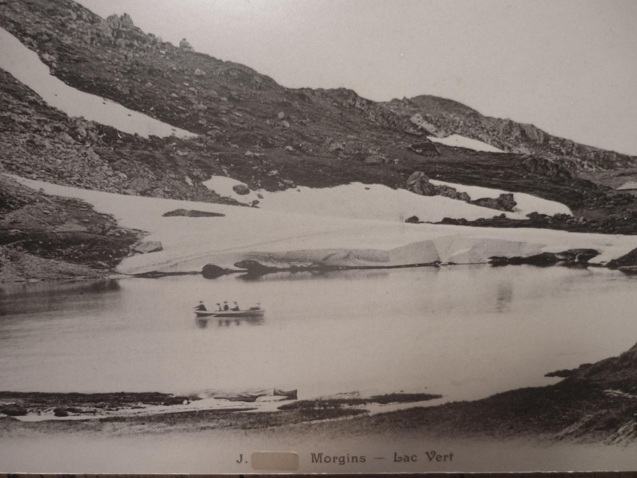 Le Lac Vert au début du 20e siècle