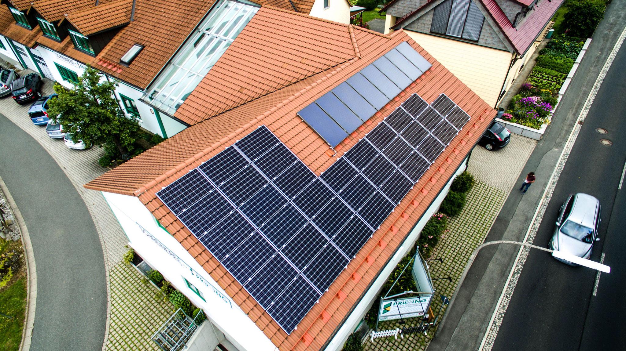 photovoltaik solaranlagen auf lagerhallen spedition und logistkhallen auch mit tesla speicher. Black Bedroom Furniture Sets. Home Design Ideas