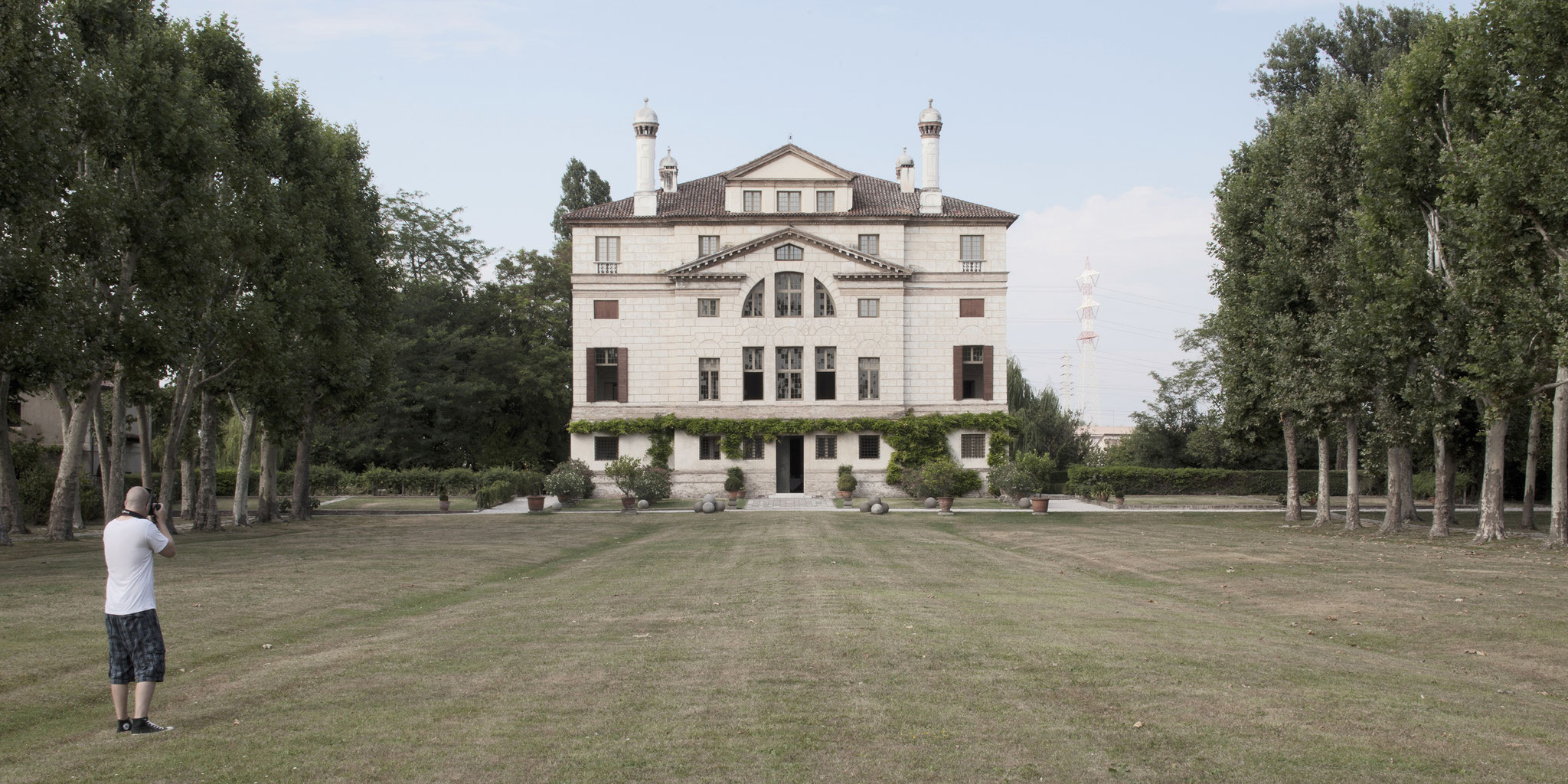 "Villa Foscari also called ""La Malcontenta""."
